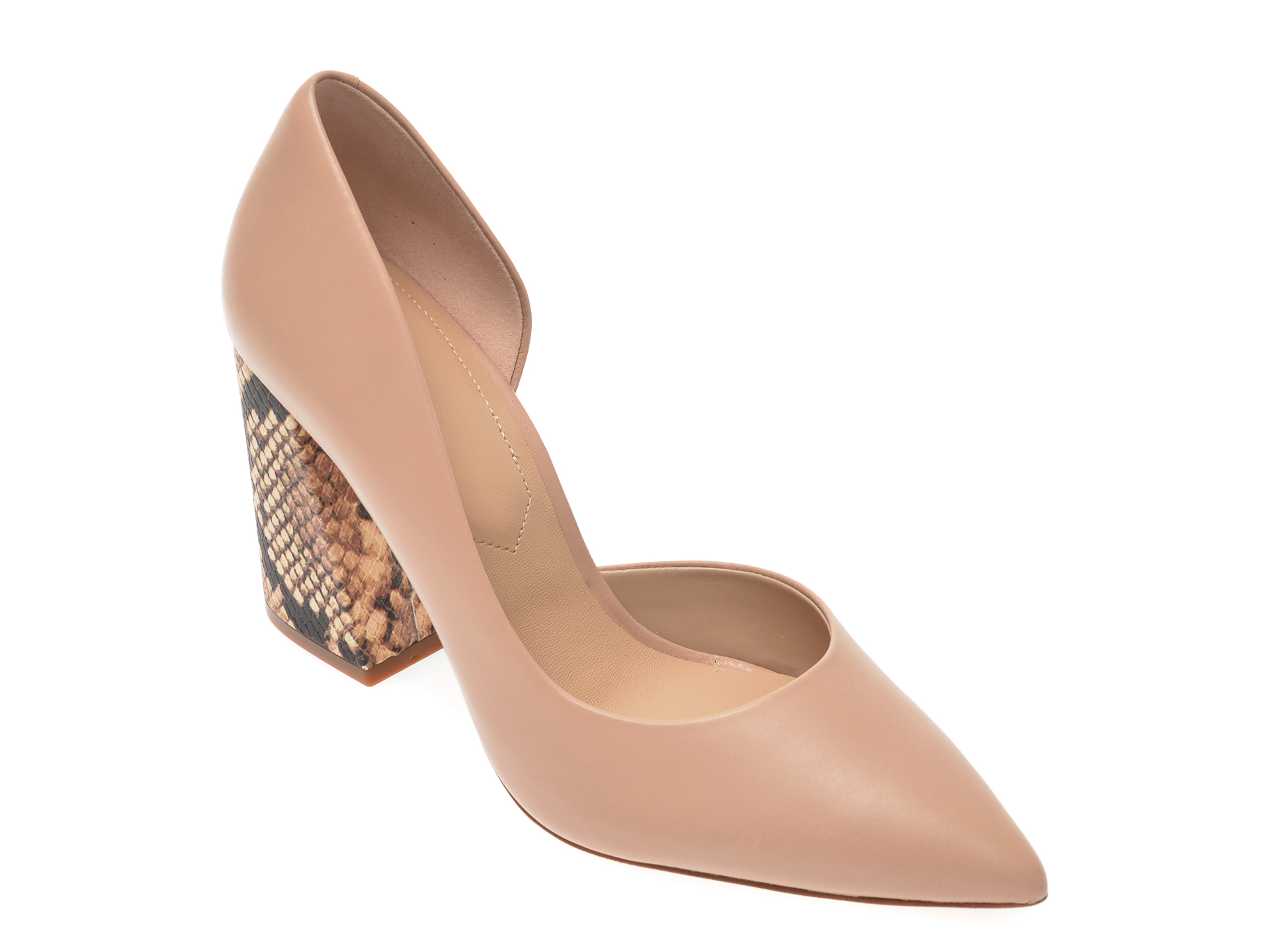 Pantofi ALDO nude, Ushari270, din piele naturala
