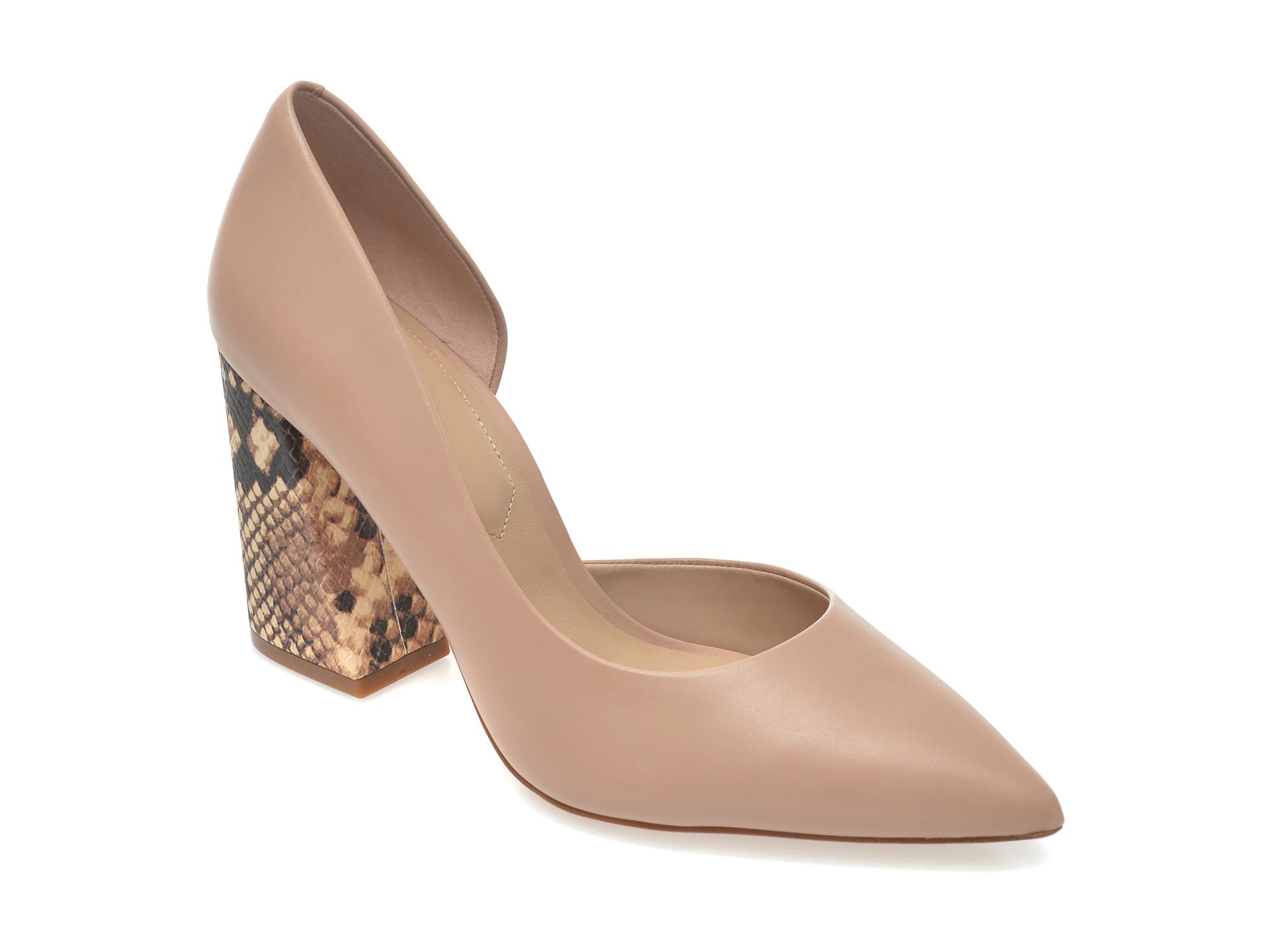 Pantofi ALDO nude, Ushari270, din piele naturala imagine otter.ro 2021