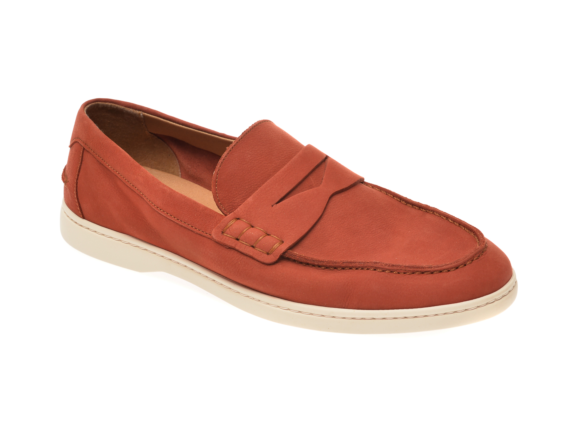 Pantofi ALDO portocalii, Kumelisu801, din nabuc imagine