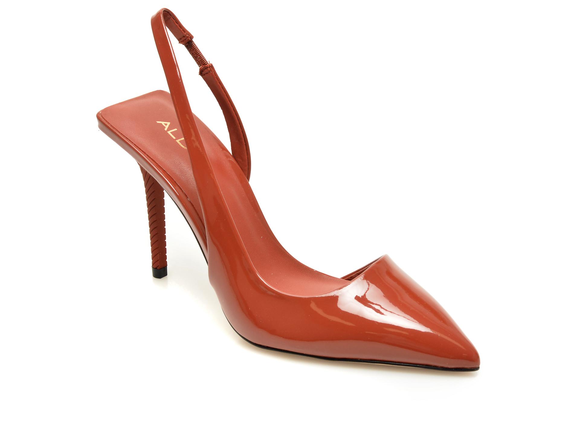 Pantofi ALDO rosii, Tirarith600, din piele ecologica imagine otter.ro