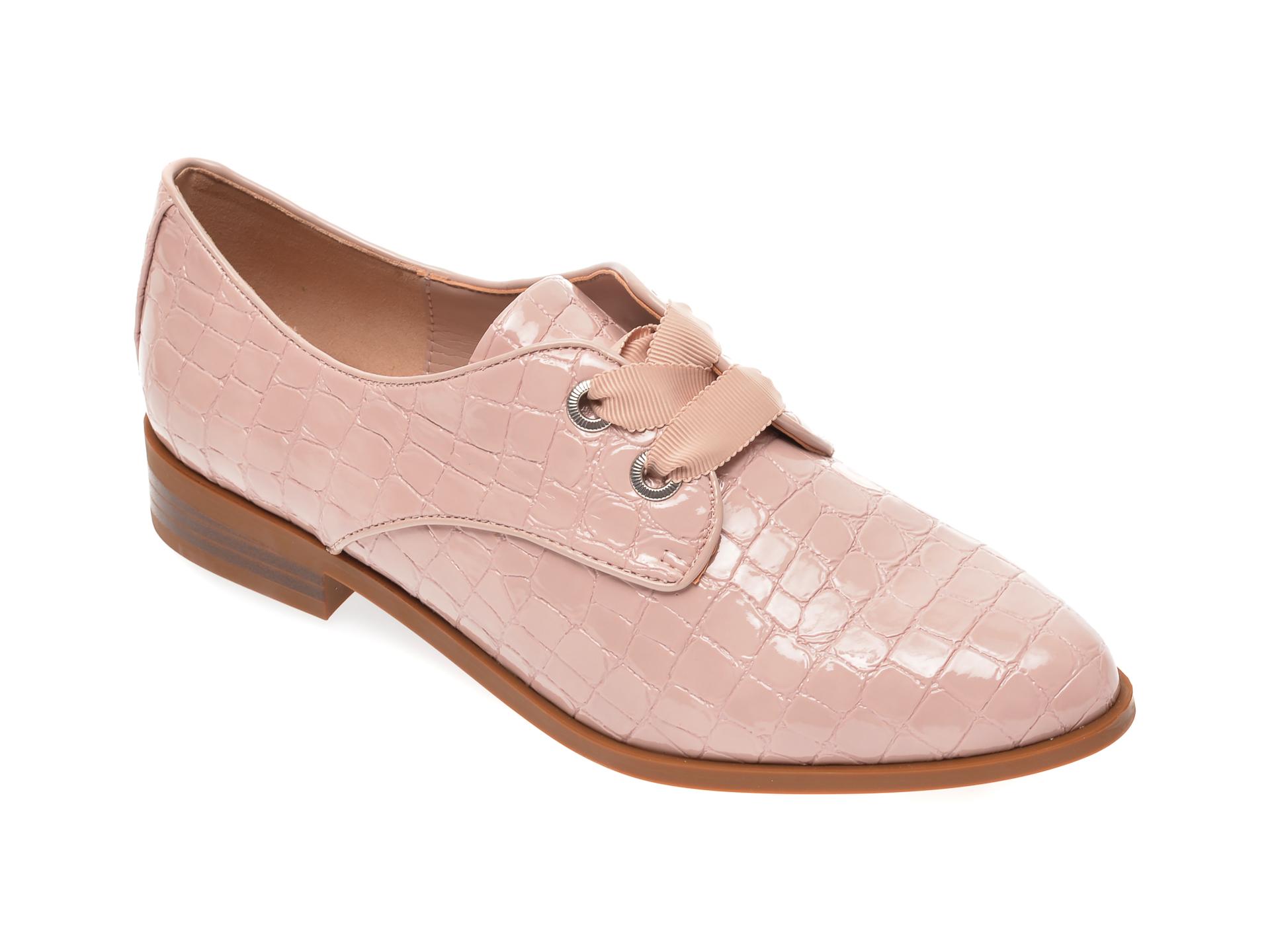 Pantofi ALDO roz, Gemelli650, din piele ecologica
