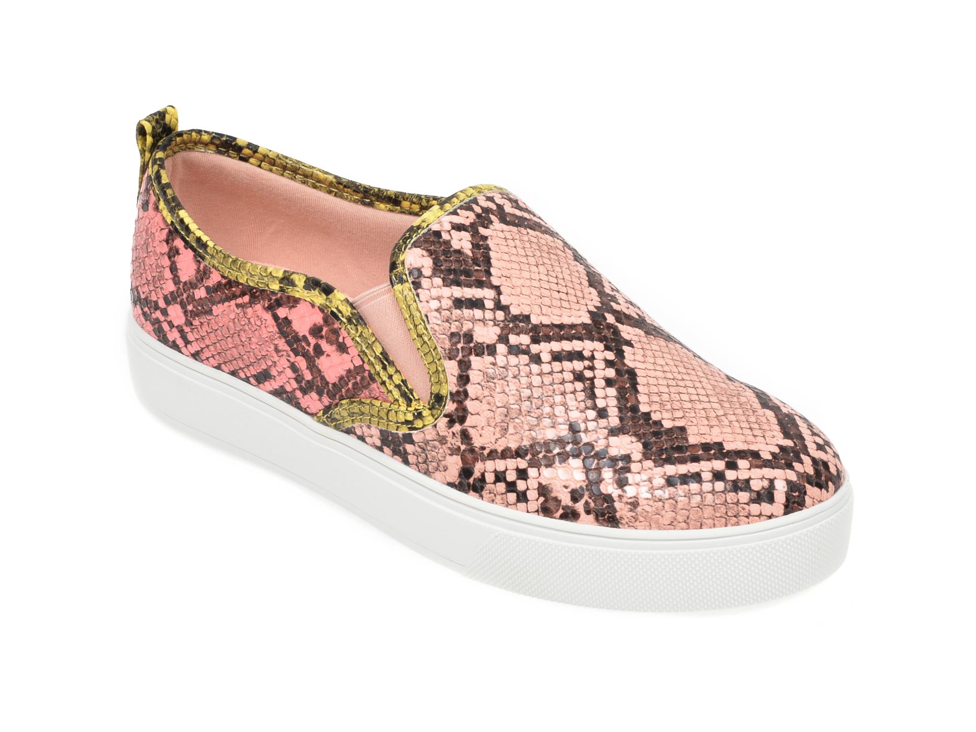 Pantofi ALDO roz, Jille960, din piele ecologica