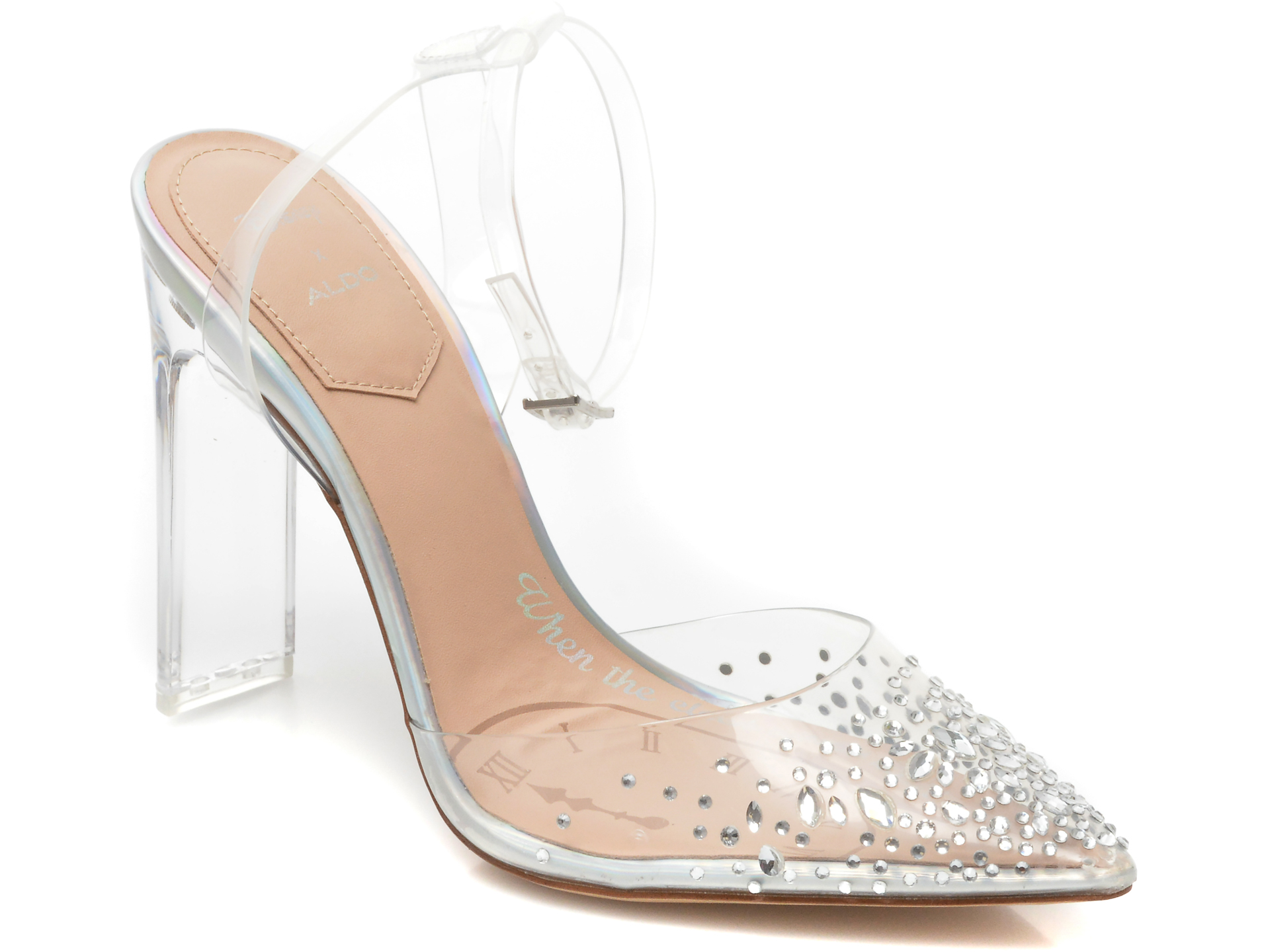 Pantofi Aldo Transparenti, 13350913, Din Pvc