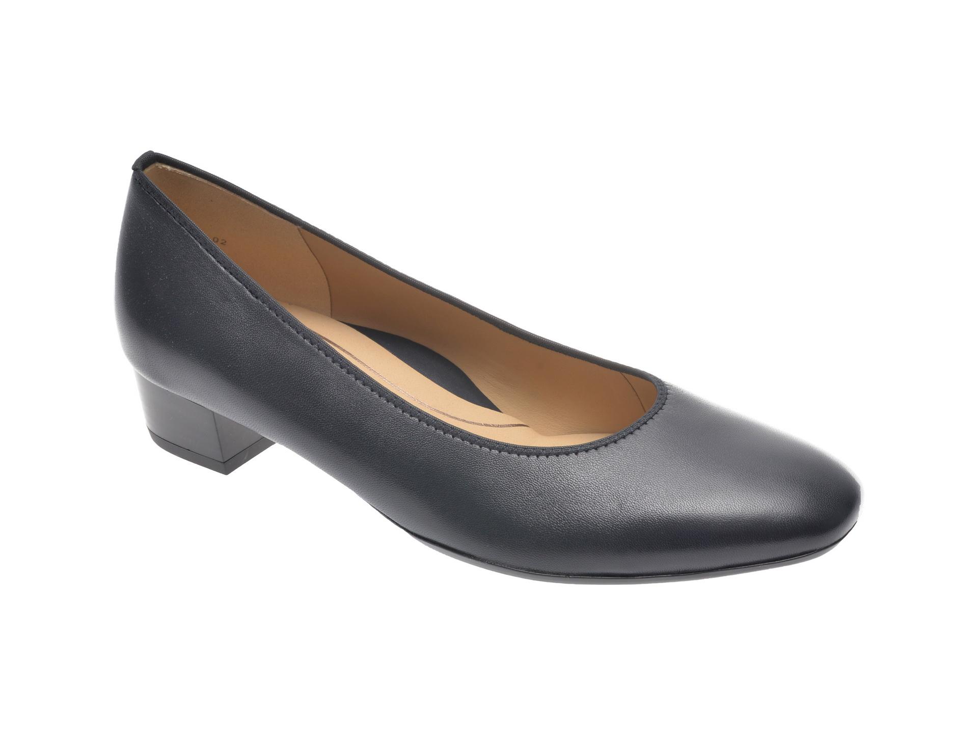 Pantofi ARA bleumarin, 26852, din piele naturala imagine