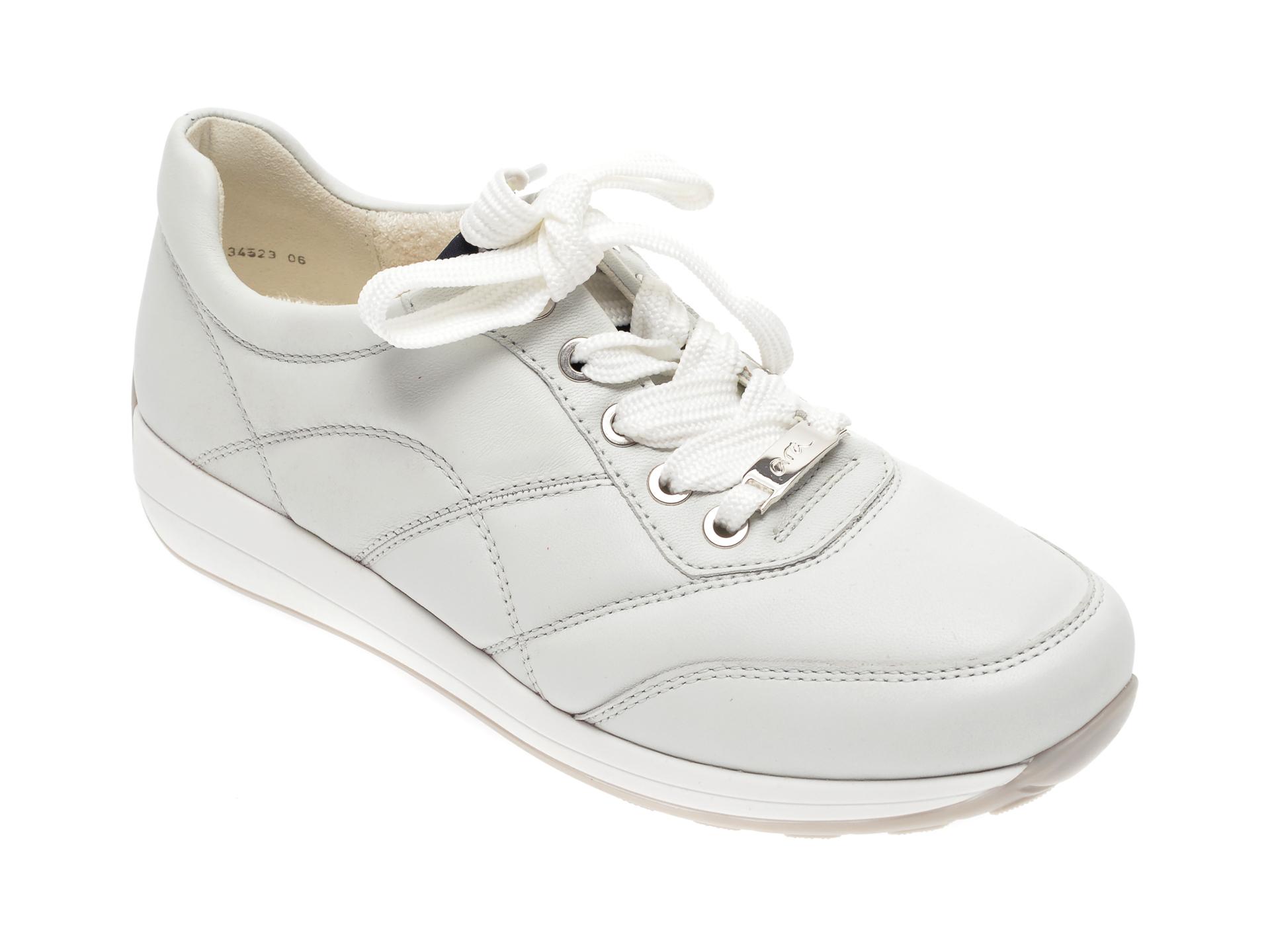 Pantofi ARA gri, 34523, din piele naturala imagine