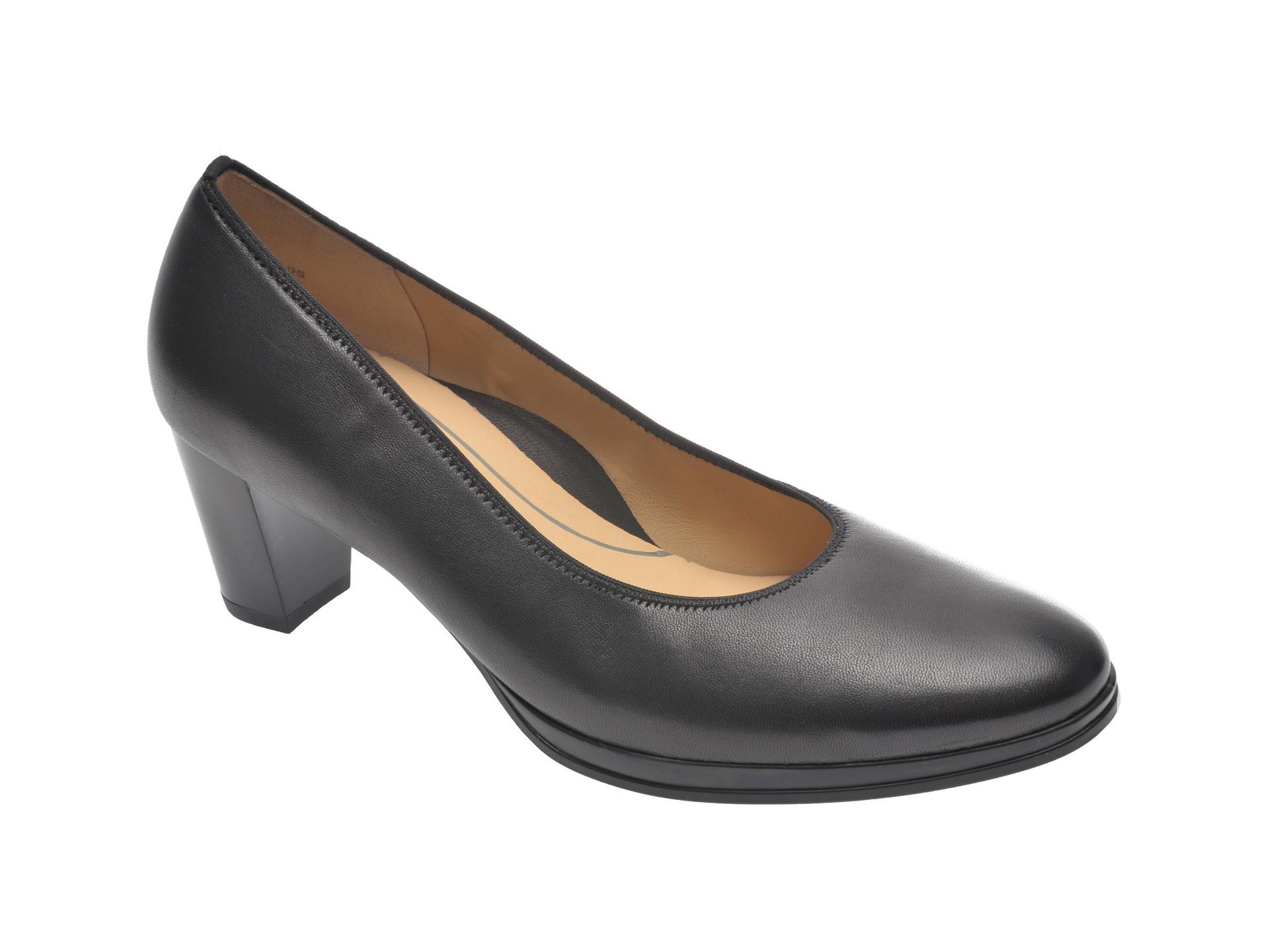 Pantofi ARA negri, 13436, din piele naturala imagine
