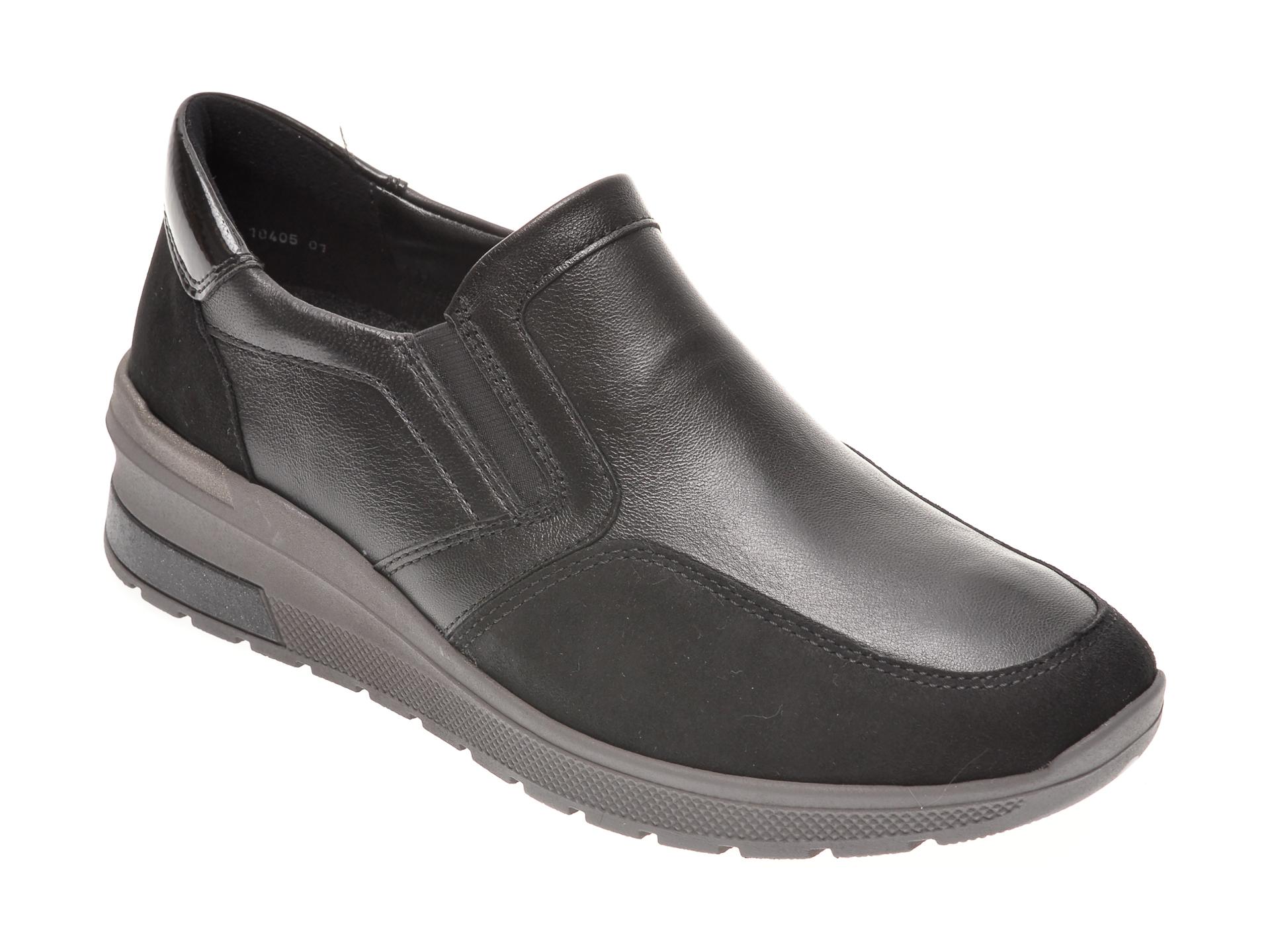 Pantofi ARA negri, 18405, din piele naturala imagine