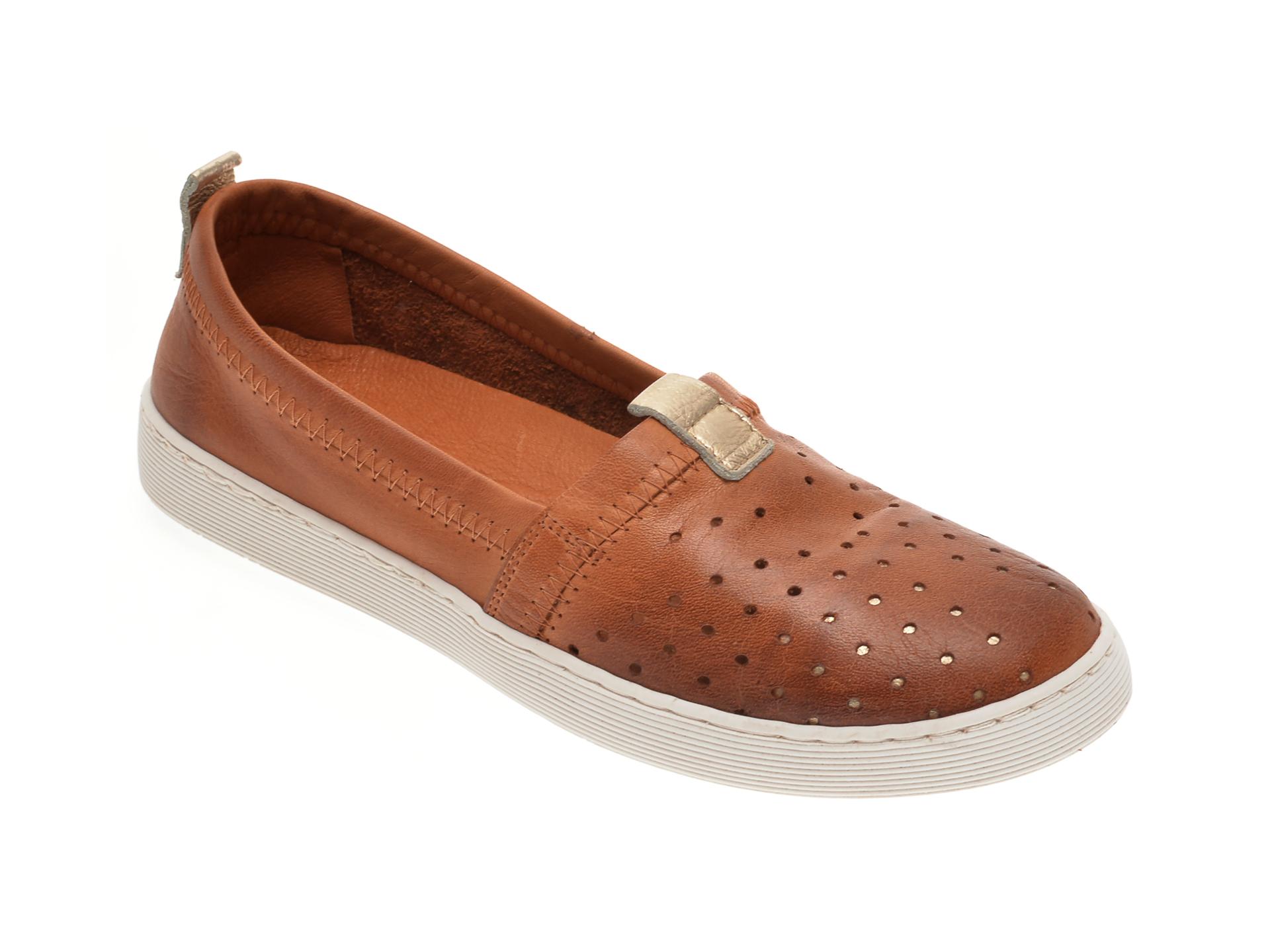 Pantofi BABOOS maro, R10, din piele naturala New