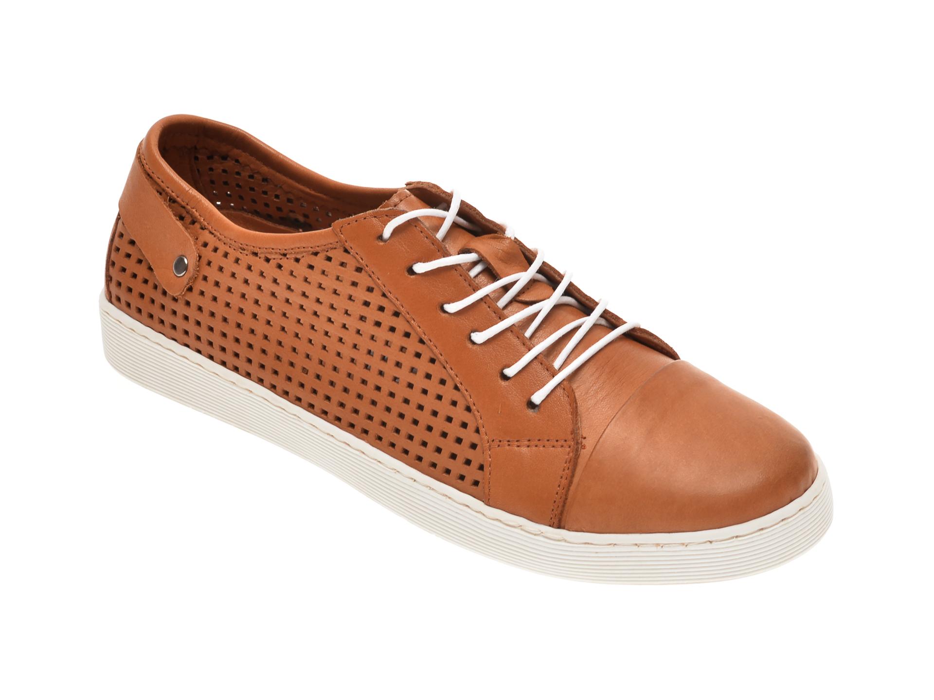 Pantofi BABOOS maro, R12, din piele naturala