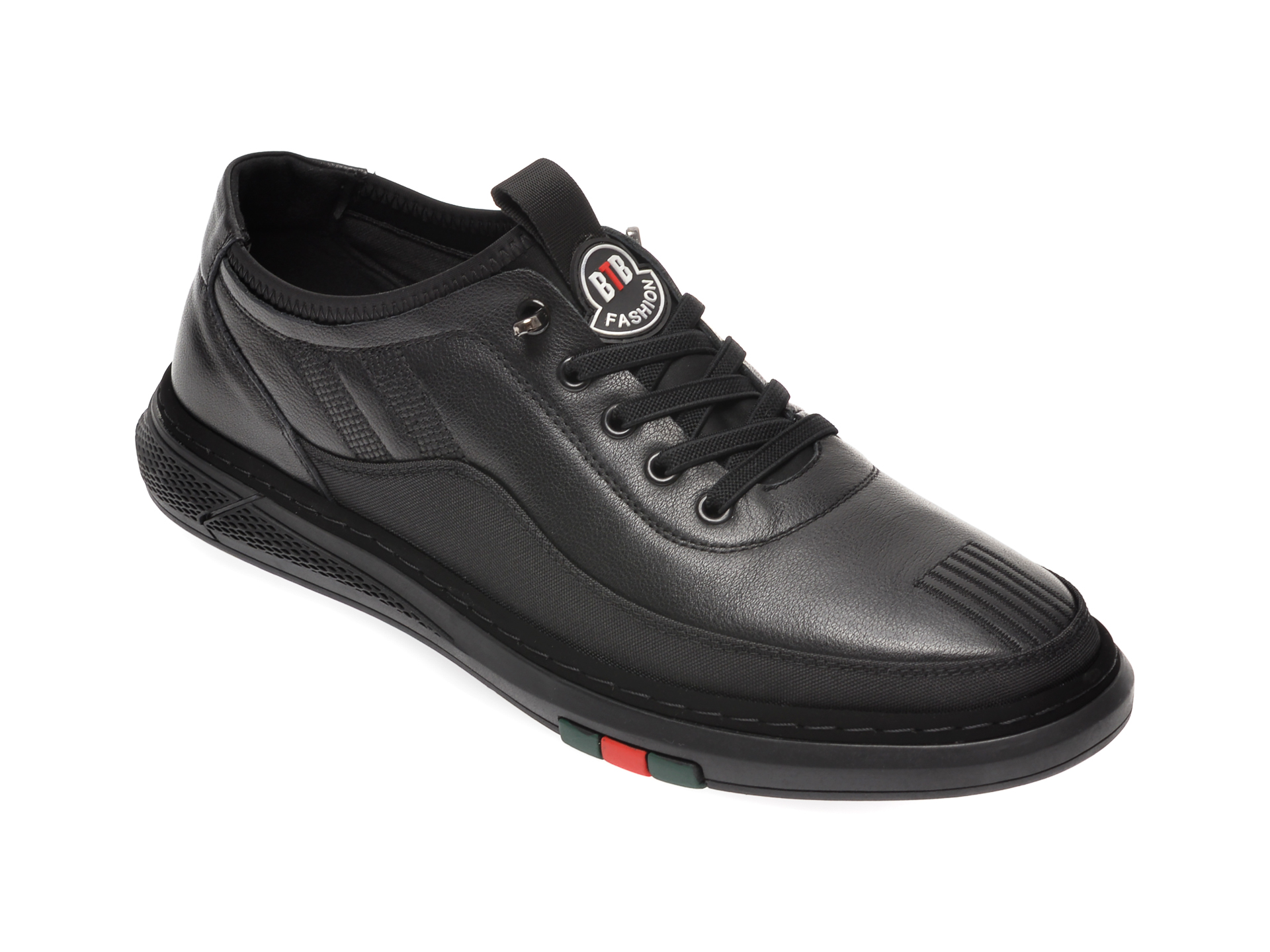 Pantofi BITE THE BULLET negri, 938281, din piele naturala imagine