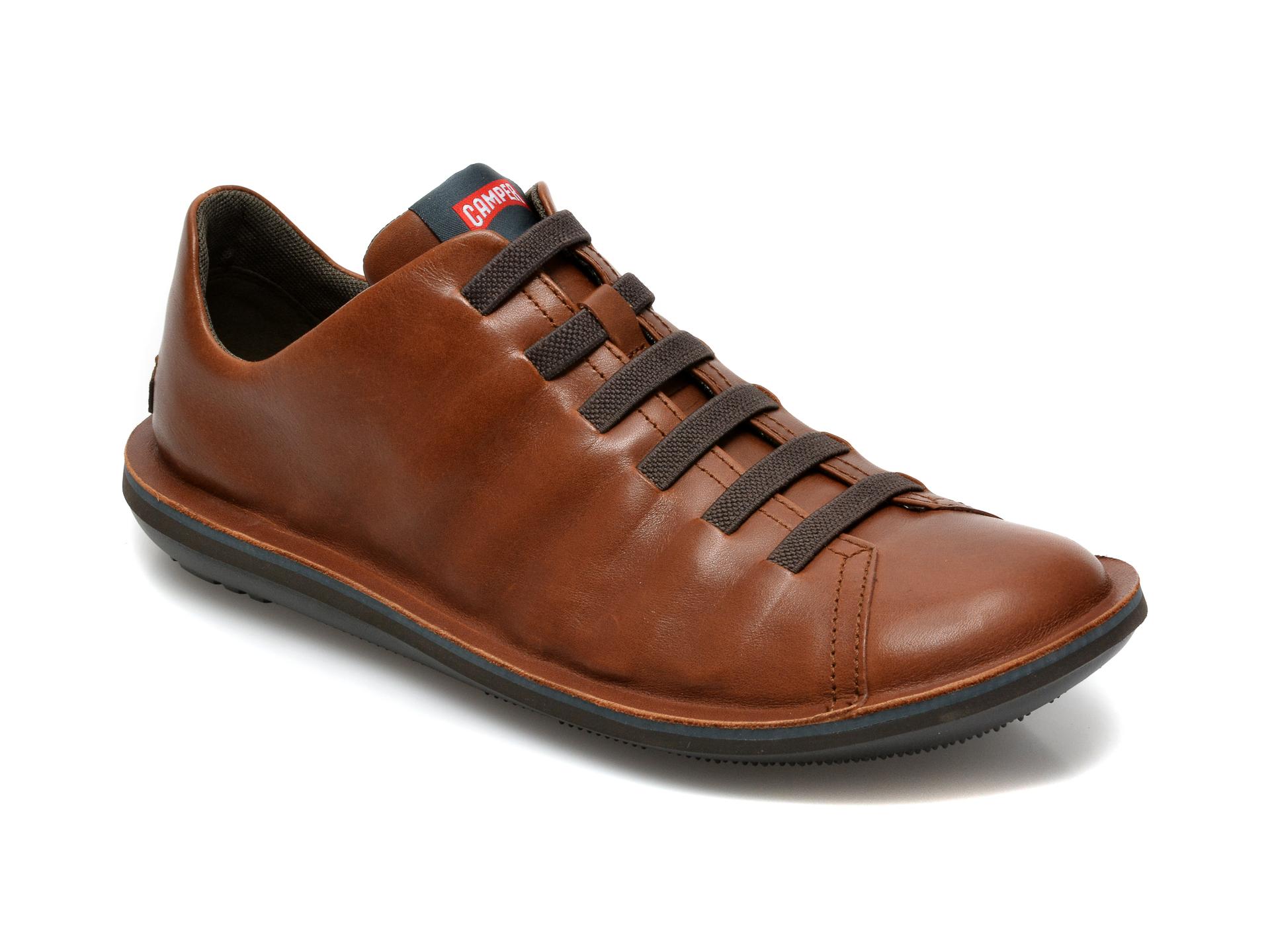 Pantofi CAMPER maro, 18751, din piele naturala imagine otter.ro 2021