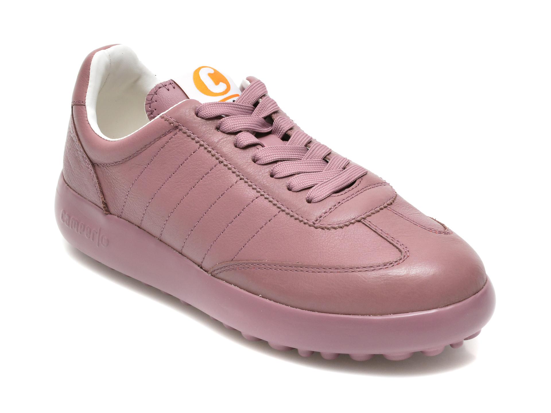 Pantofi Camper Mov, K201060, Din Piele Naturala