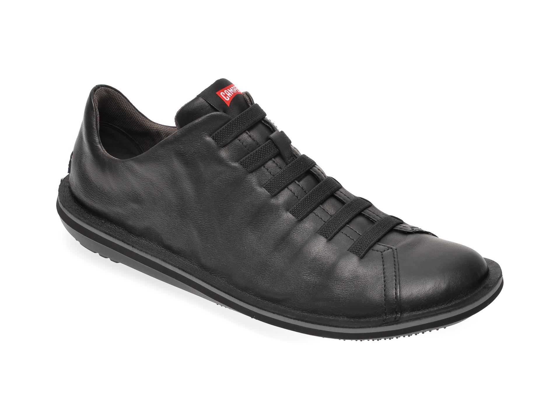 Pantofi CAMPER negri, 18751, din piele naturala New