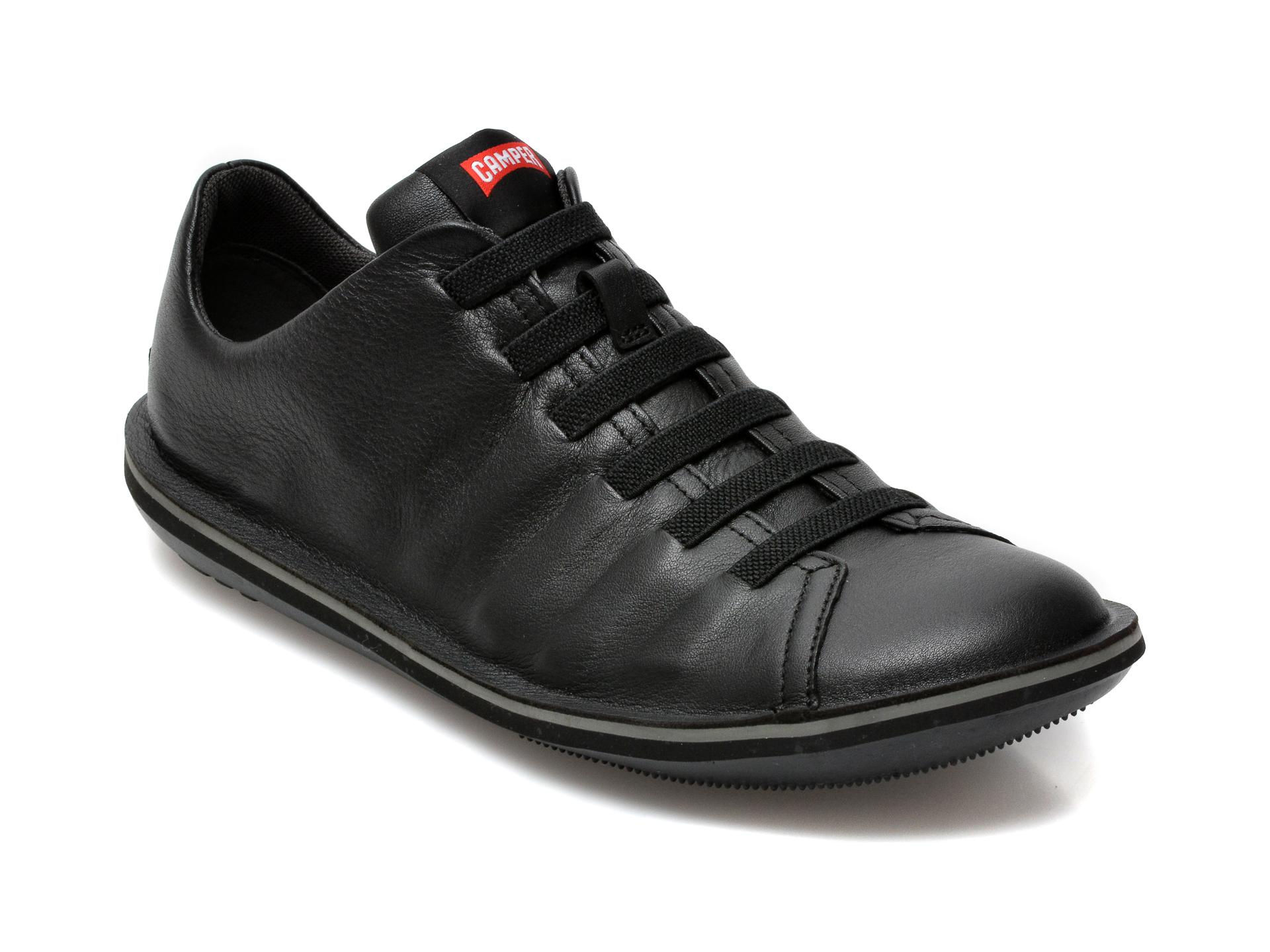 Pantofi CAMPER negri, 18751, din piele naturala imagine otter.ro 2021