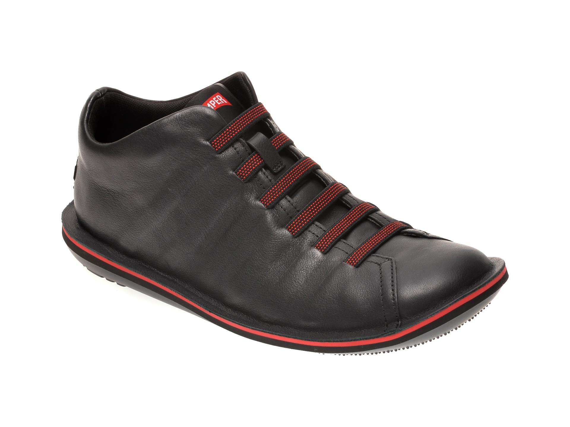 Pantofi CAMPER negri, 36678, din piele naturala imagine