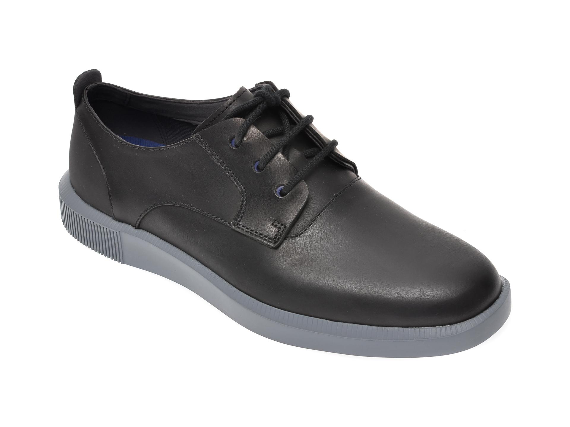 Pantofi CAMPER negri, K100356, din piele naturala imagine