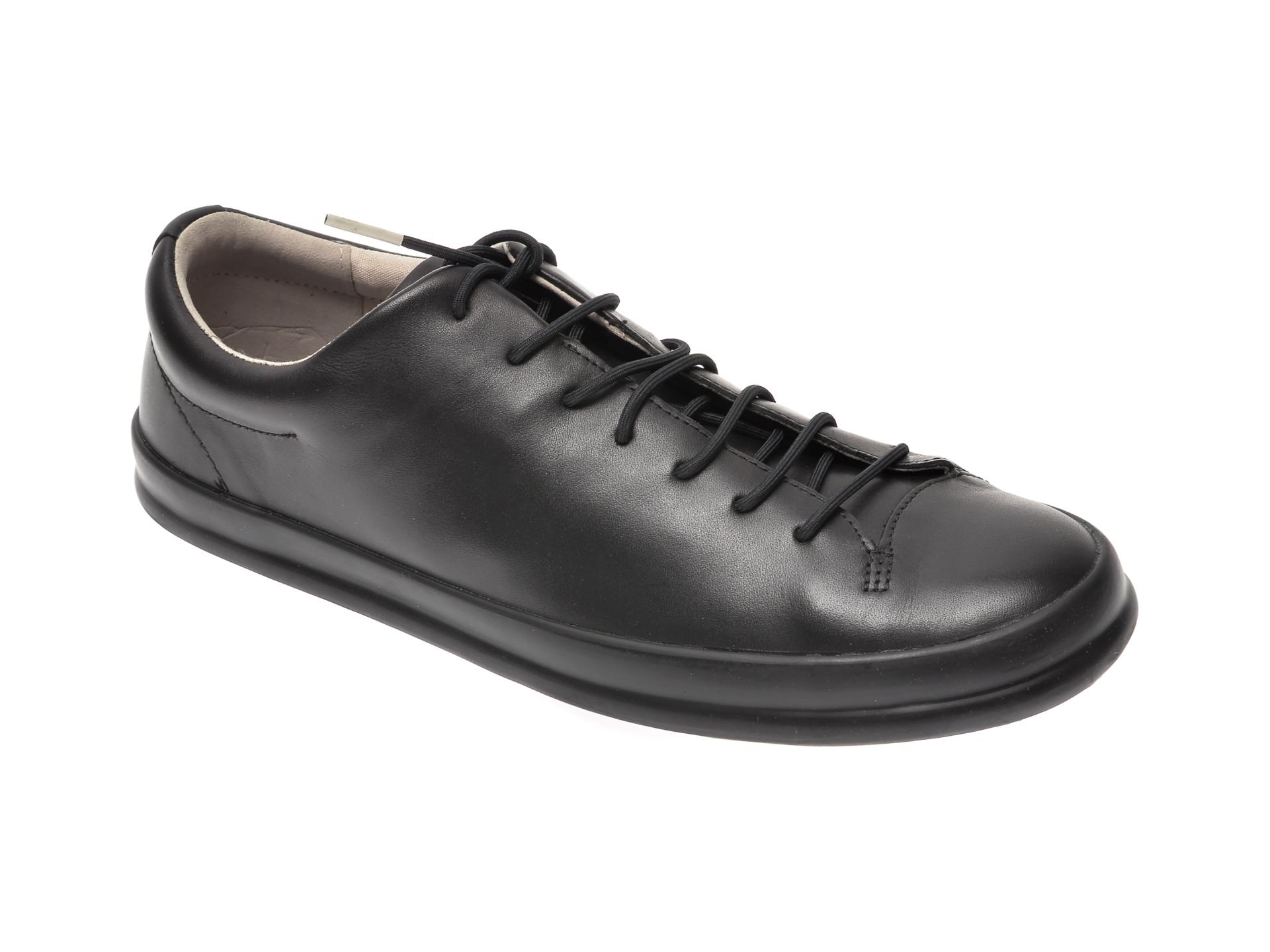 Pantofi CAMPER negri, K100373, din piele naturala imagine