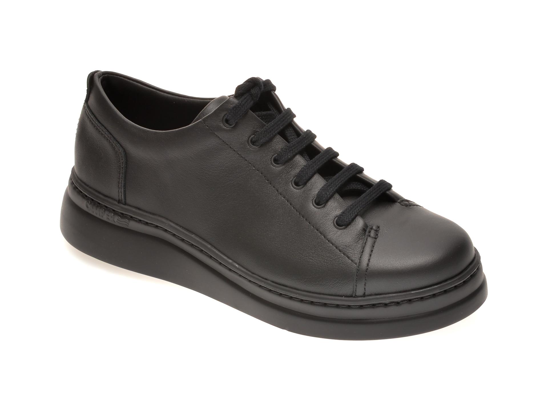Pantofi CAMPER negri, K200508, din piele naturala imagine otter.ro
