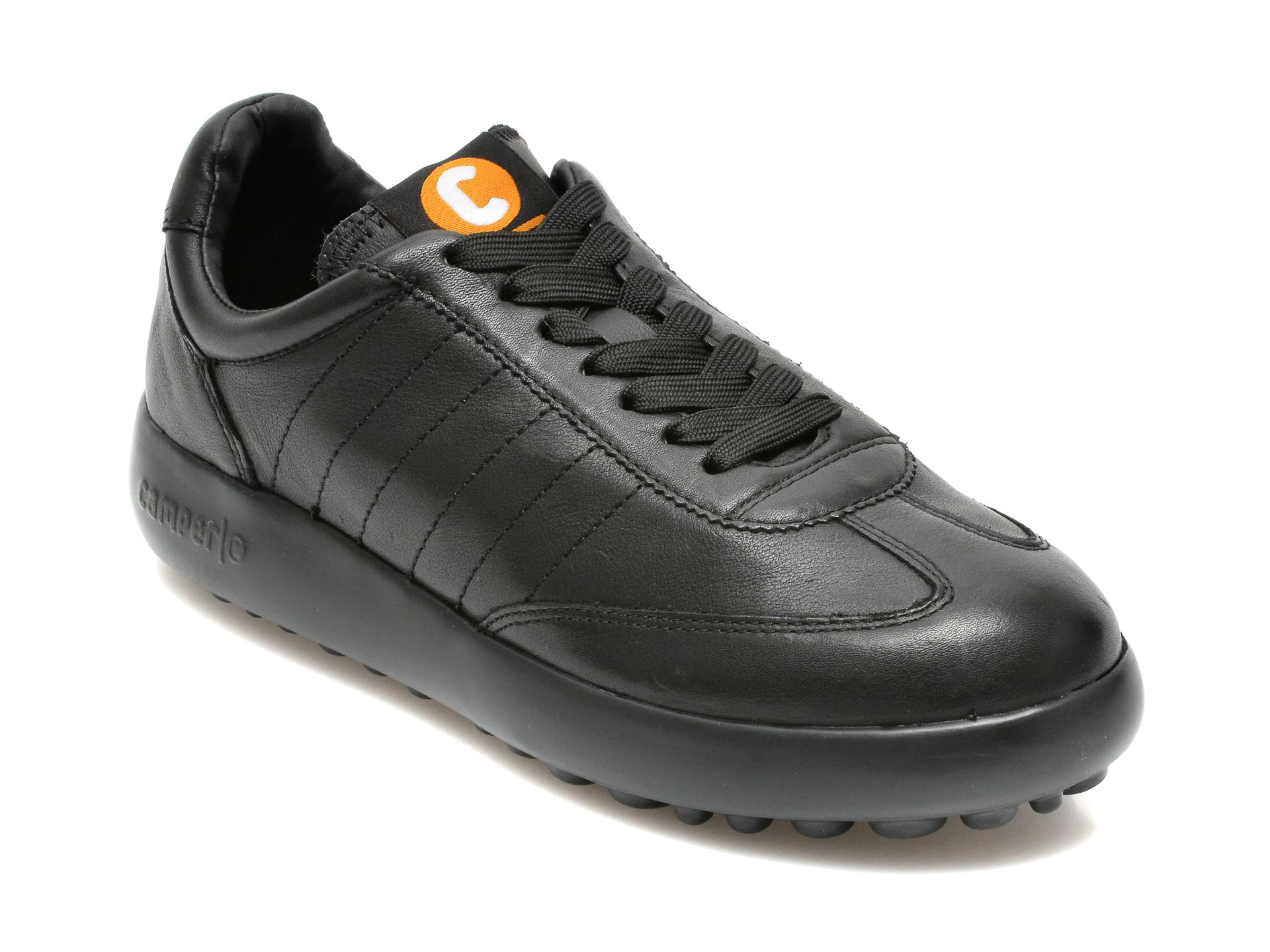Pantofi CAMPER negri, K201060, din piele naturala