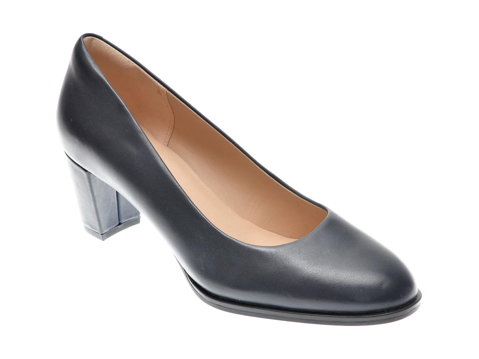 Pantofi CLARKS bleumarin, KAYLIN60 COURT, din piele naturala imagine