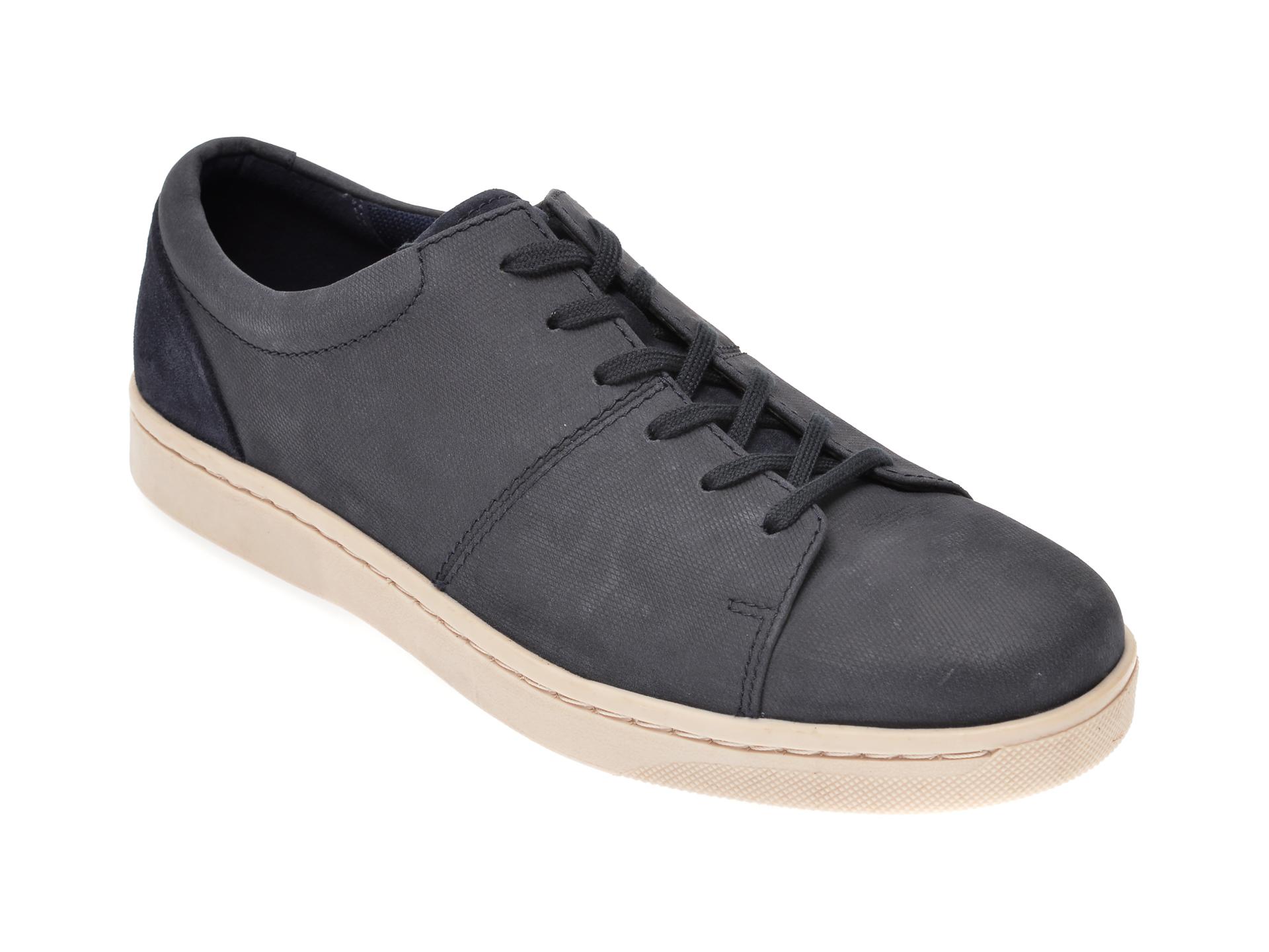 Pantofi CLARKS bleumarin, Kitna Vibe, din nabuc imagine