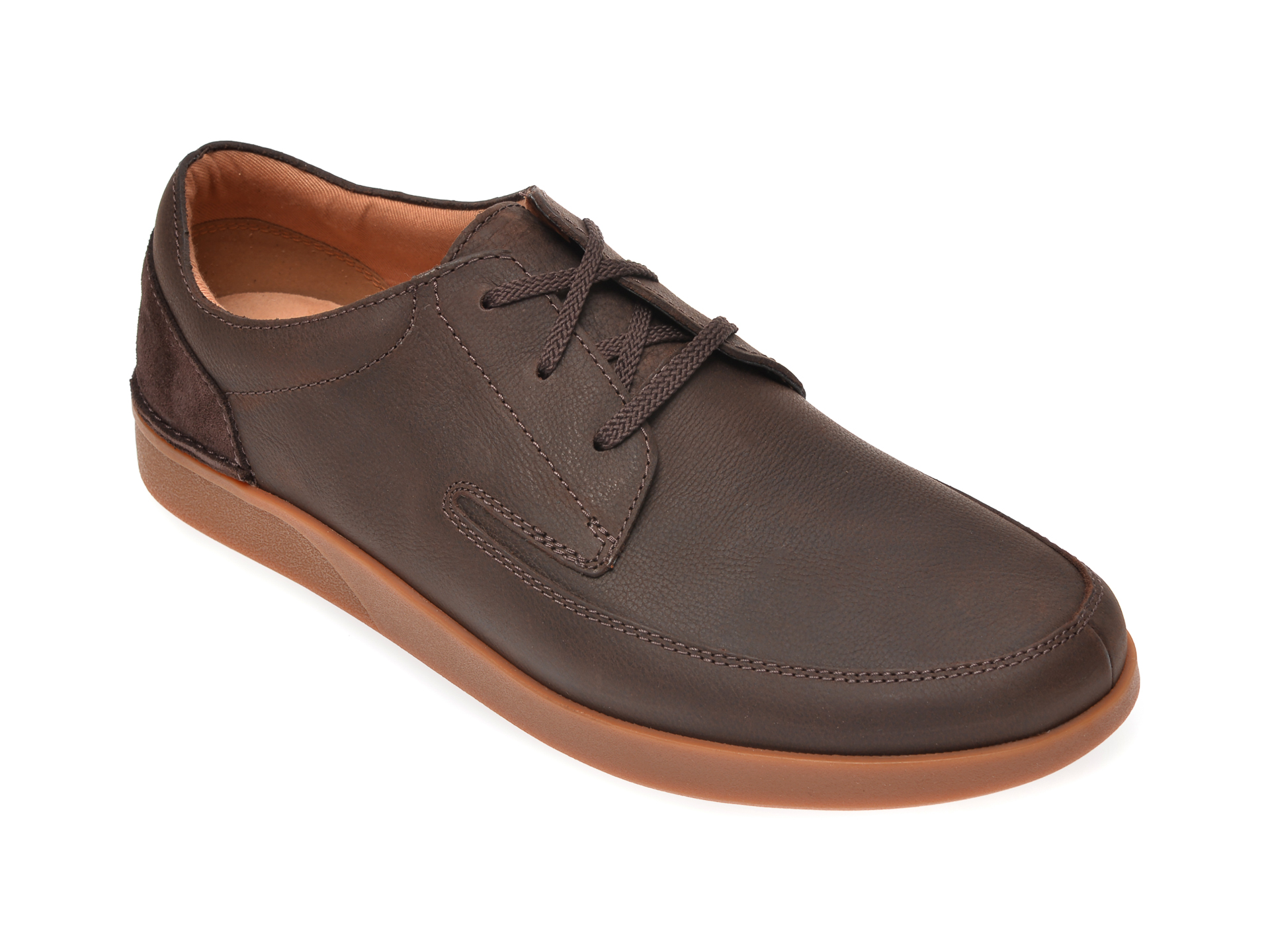 Pantofi CLARKS maro, Oakland Craft, din piele naturala imagine
