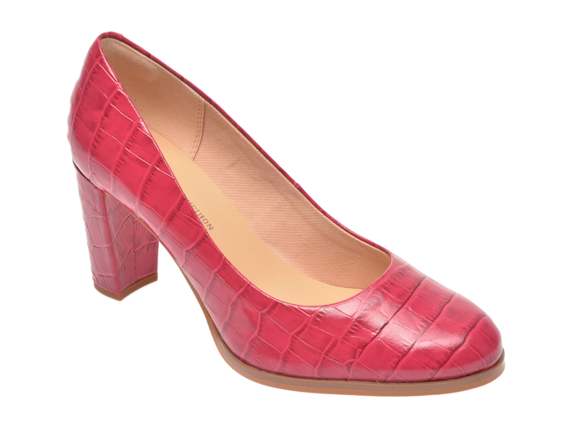 Pantofi CLARKS roz, Kaylin Cara, din piele naturala imagine