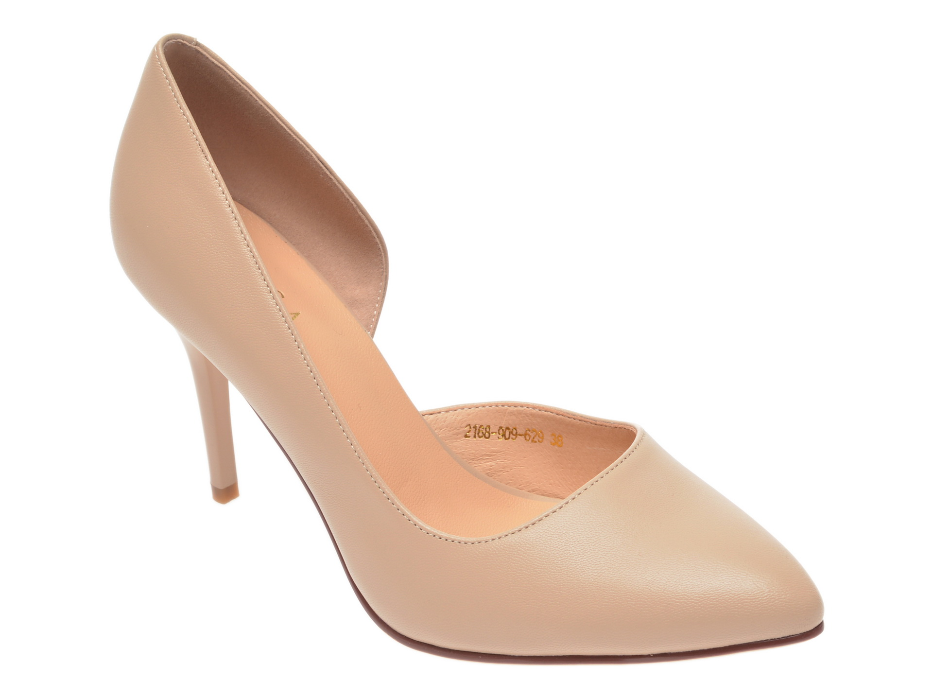 Pantofi EPICA bej, 2168909, din piele naturala