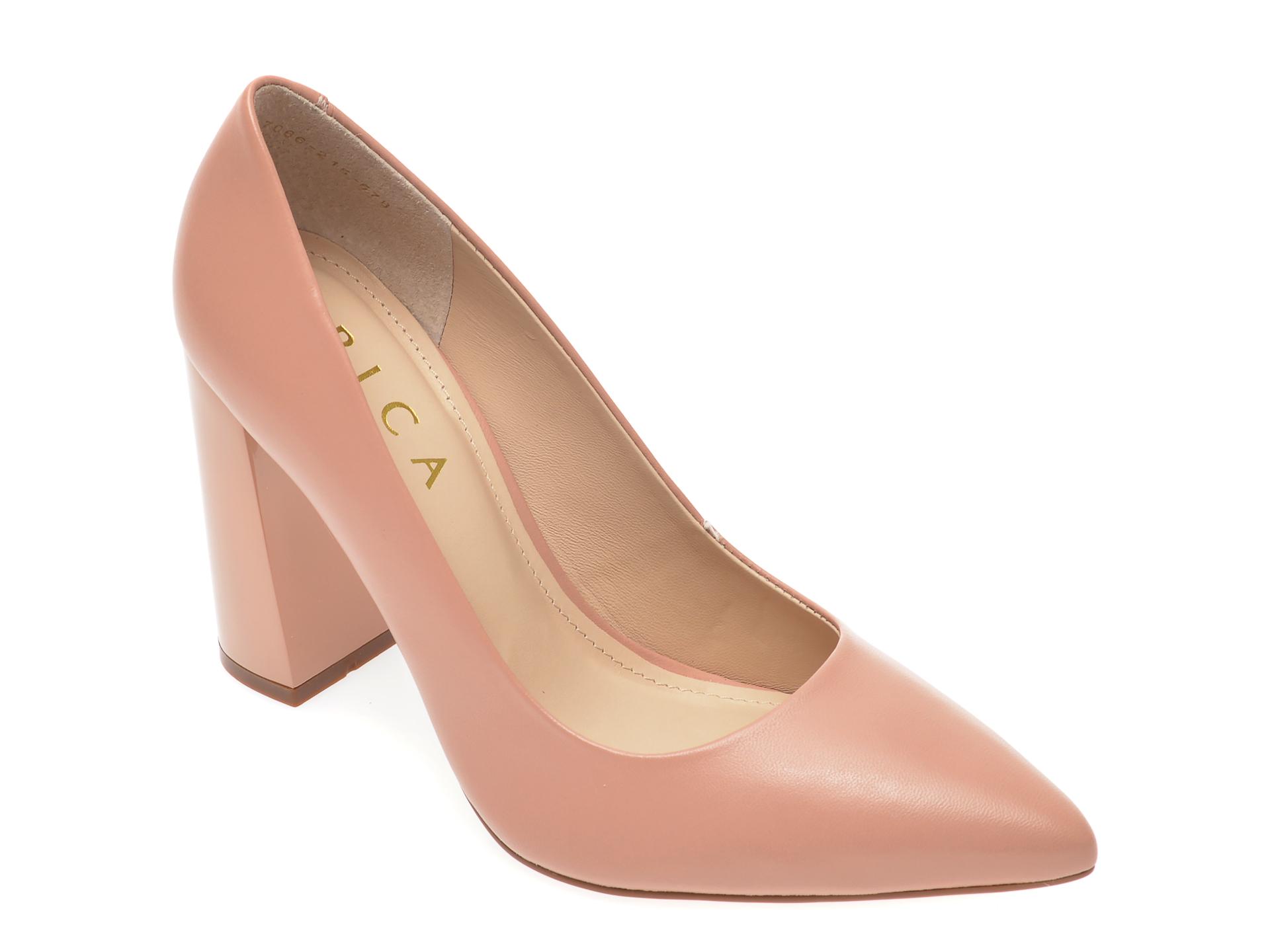 Pantofi EPICA nude, 7066215, din piele naturala