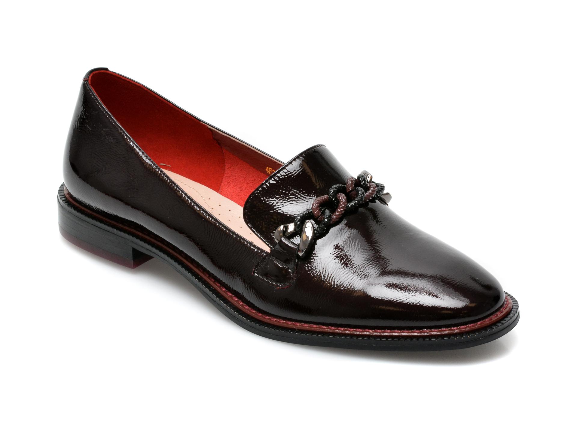 Pantofi EPICA visinii, 4F202A9, din piele naturala lacuita imagine otter.ro 2021