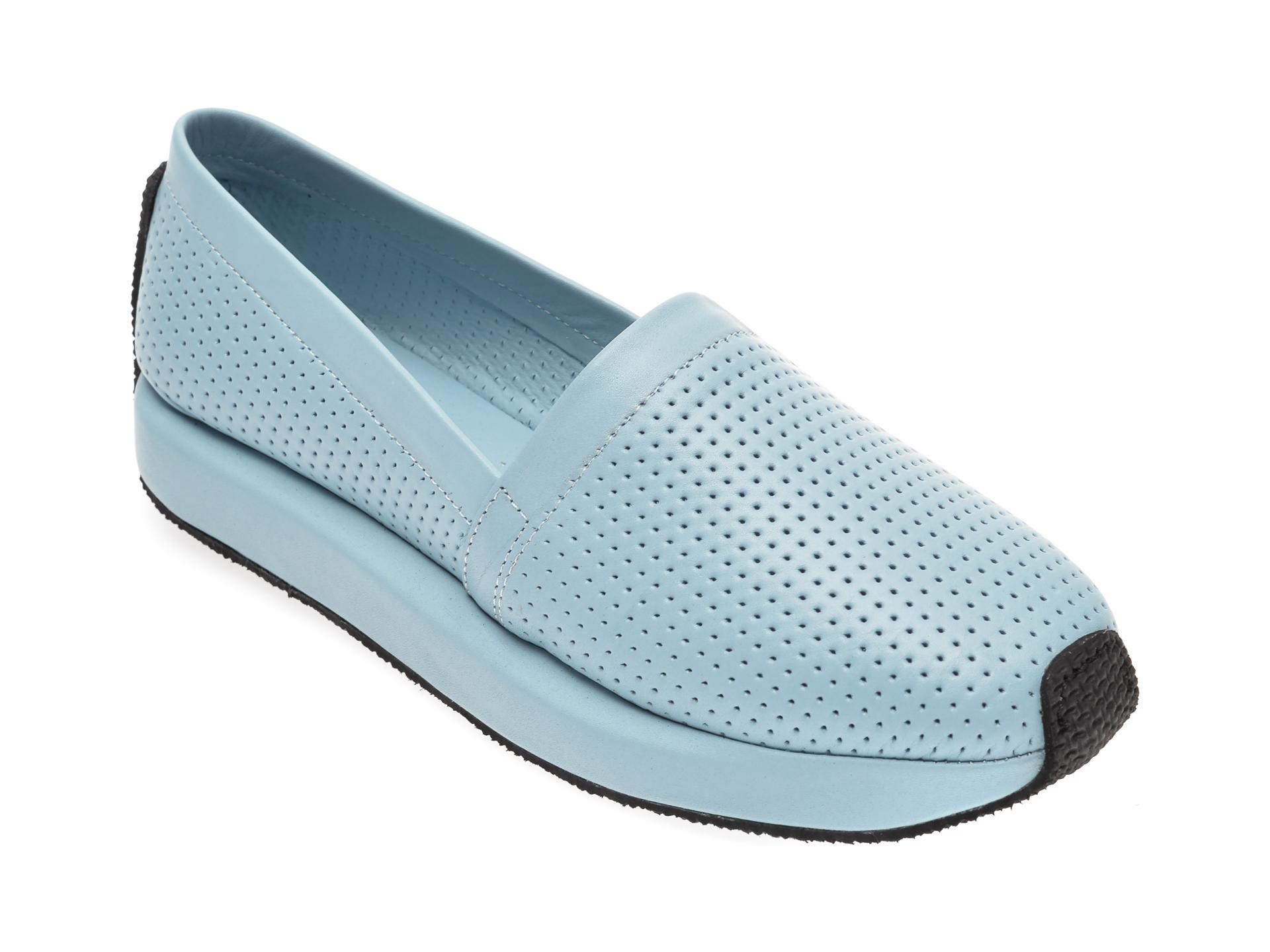 Pantofi FLAVIA PASSINI albastri, 0856013, din piele naturala
