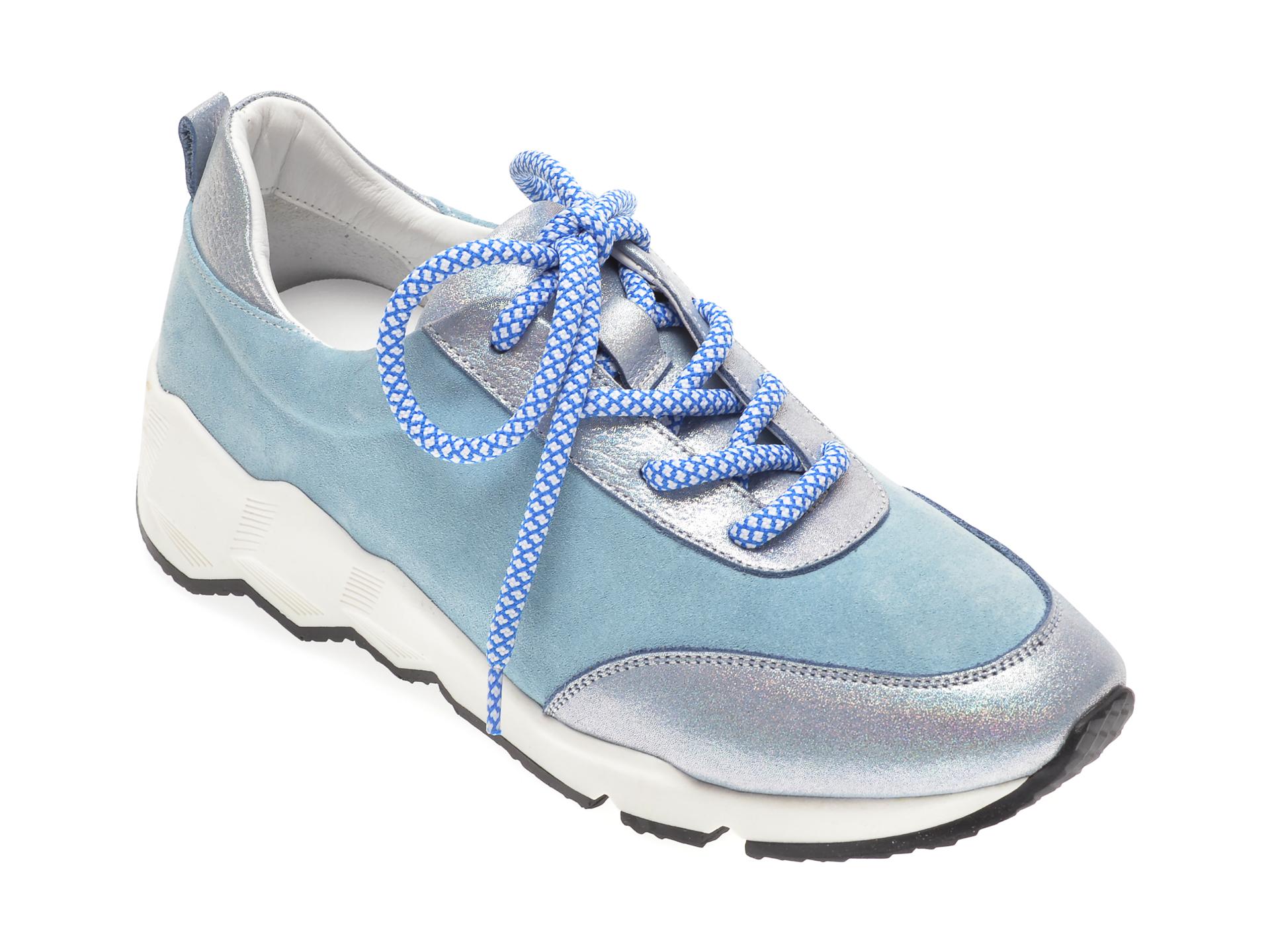 Pantofi FLAVIA PASSINI albastri, 135P42, din piele naturala