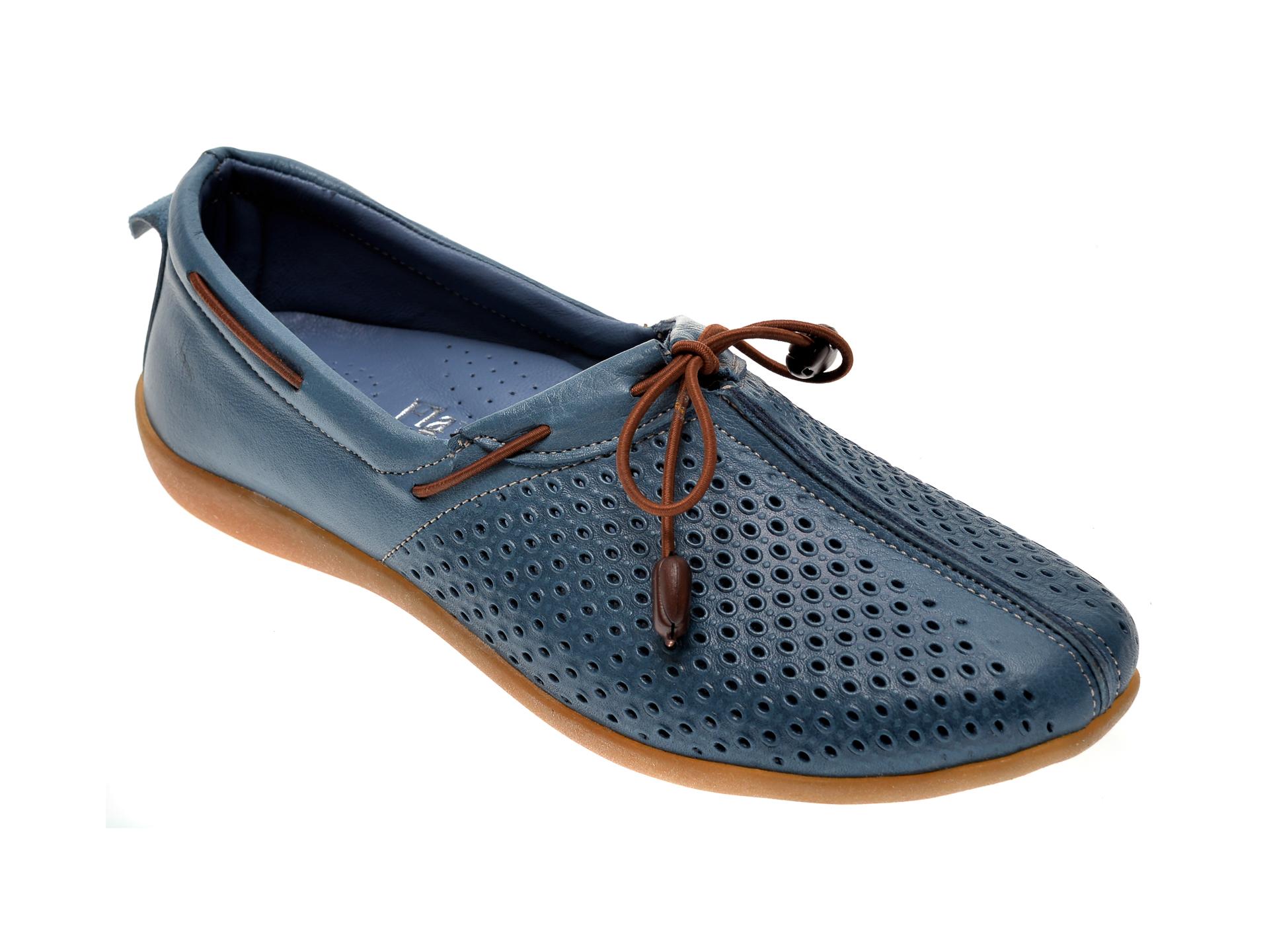 Pantofi FLAVIA PASSINI albastri, 306, din piele naturala