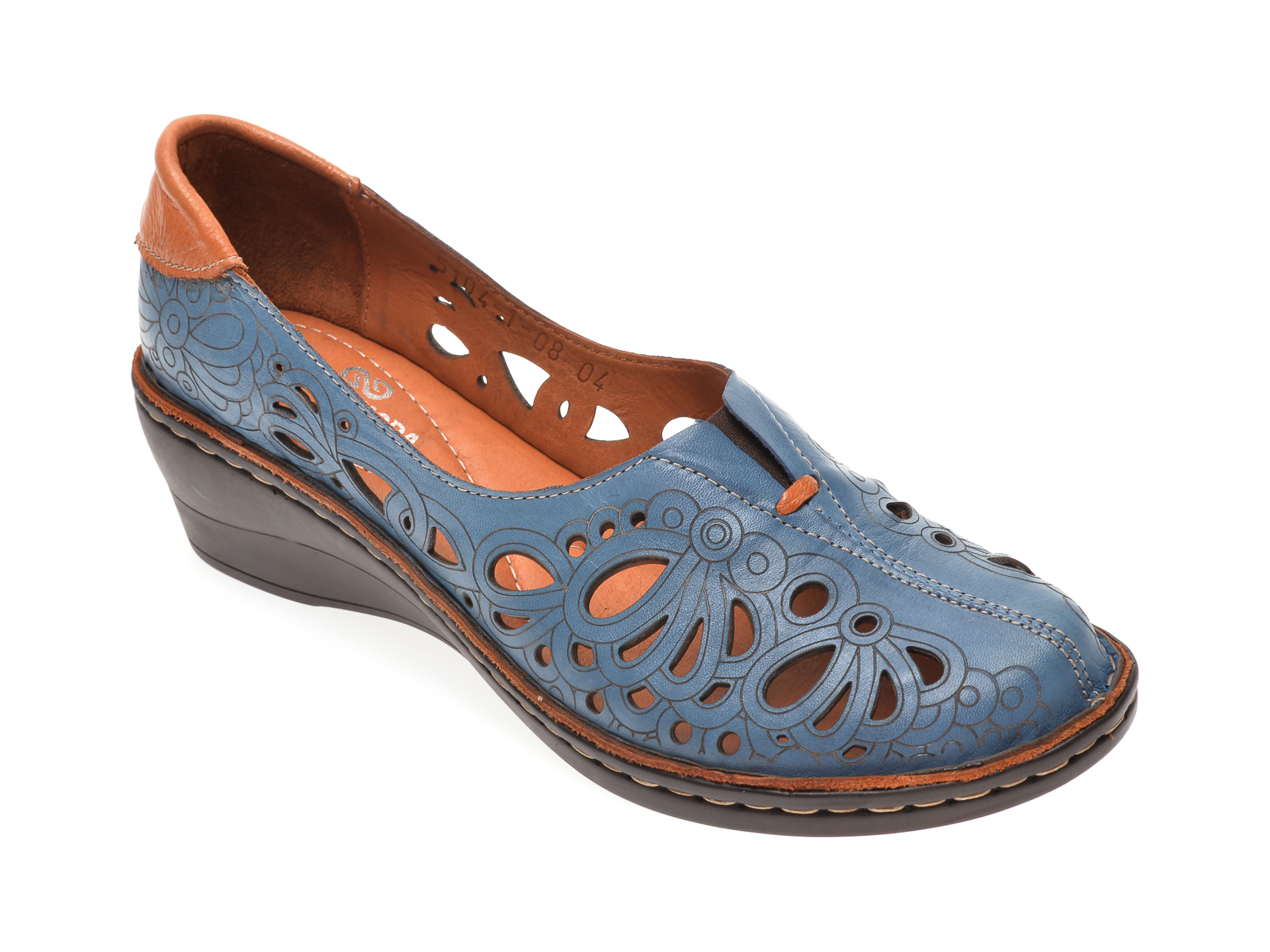 Pantofi FLAVIA PASSINI albastri, 51041, din piele naturala