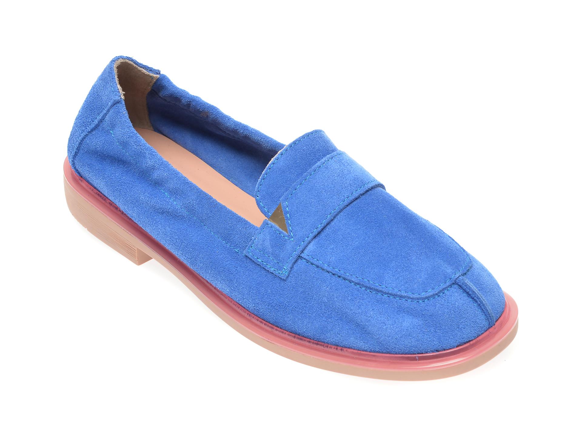 Pantofi FLAVIA PASSINI albastri, 6581371, din piele intoarsa