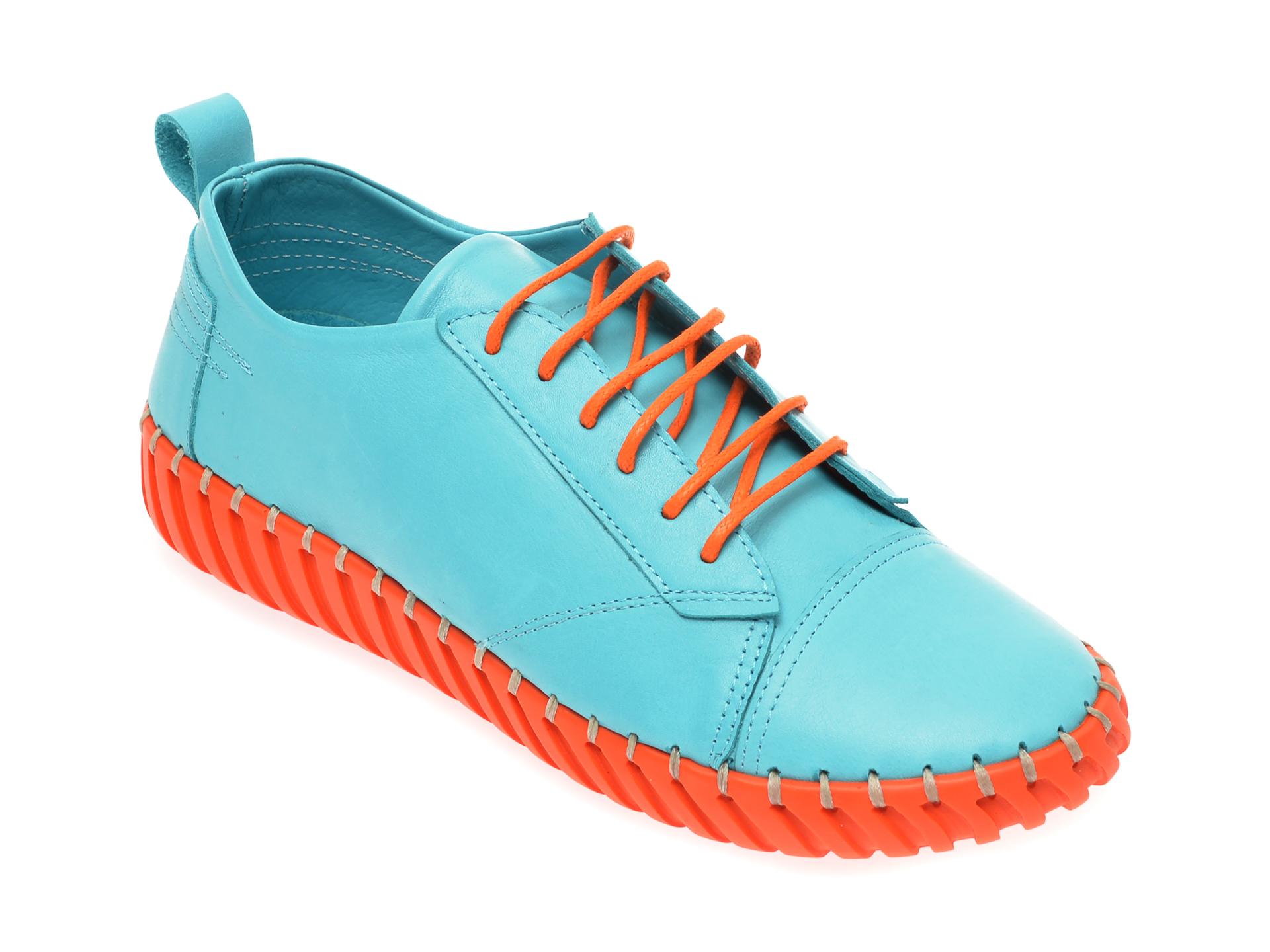 Pantofi FLAVIA PASSINI albastru, 4261002, din piele naturala