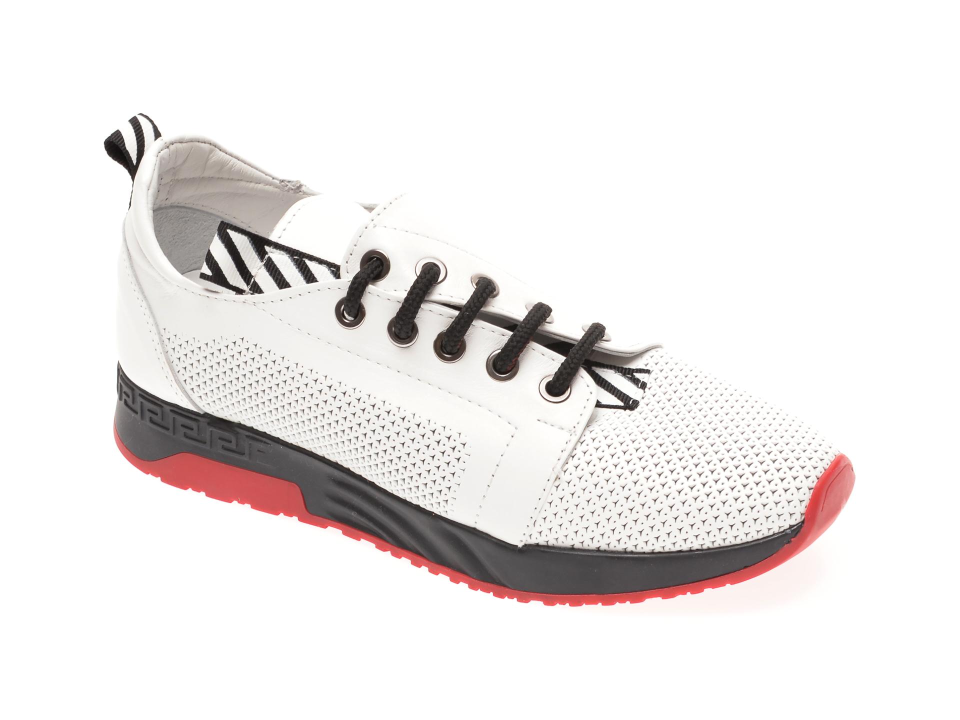 Pantofi FLAVIA PASSINI albi, 022600, din piele naturala imagine