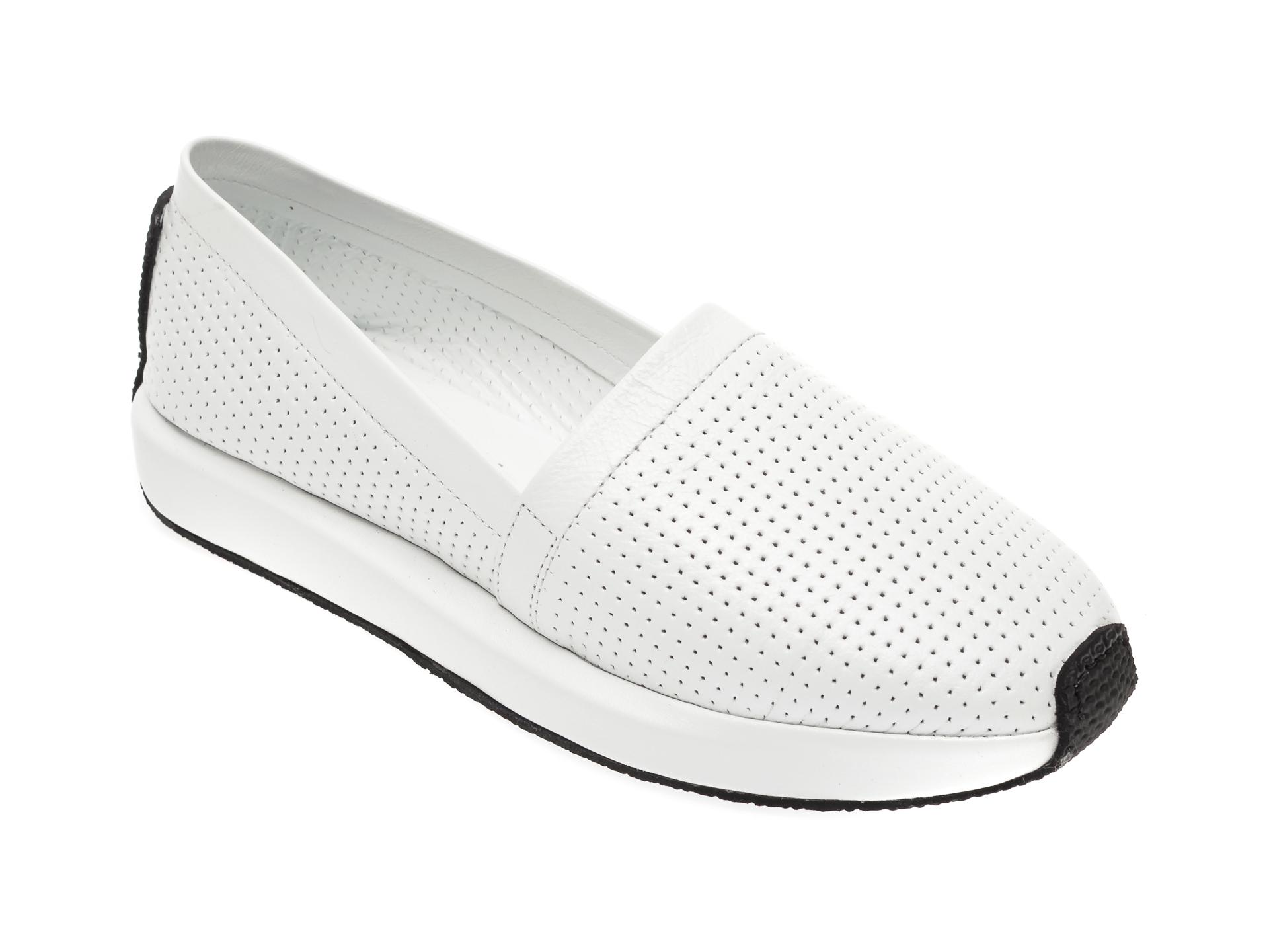 Pantofi FLAVIA PASSINI albi, 0856013, din piele naturala New
