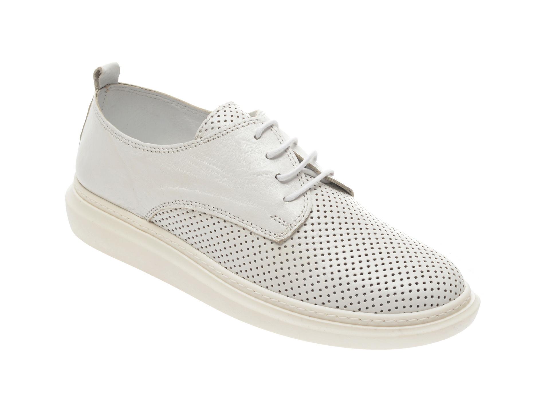 Pantofi FLAVIA PASSINI albi, 1022022, din piele naturala imagine