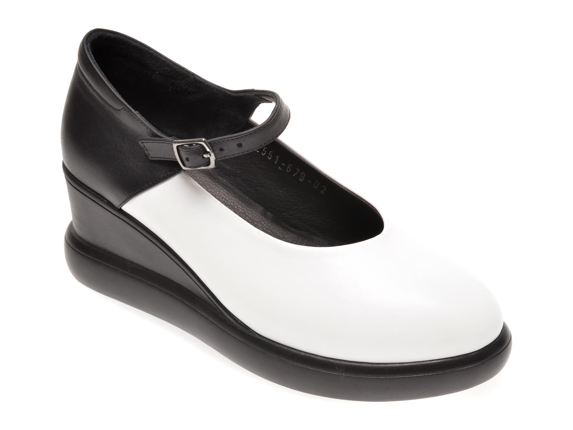 Pantofi FLAVIA PASSINI albi, 1182551, din piele naturala