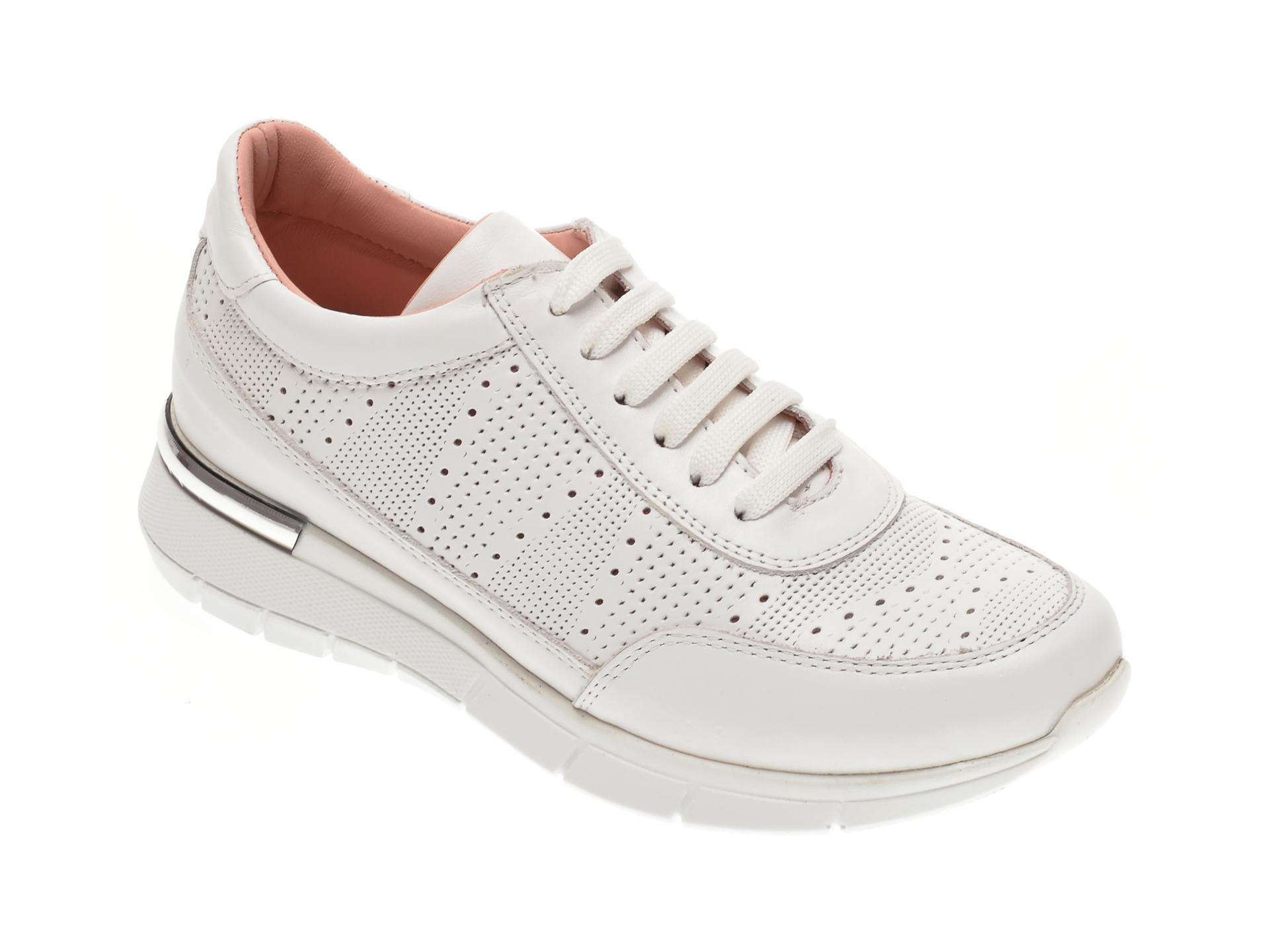Pantofi FLAVIA PASSINI albi, 1251277, din piele naturala