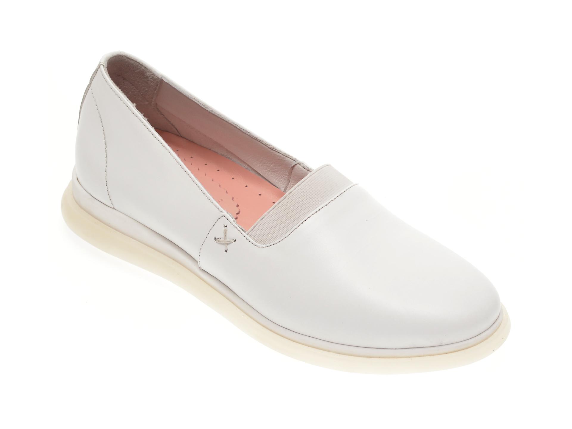 Pantofi FLAVIA PASSINI albi, 125715, din piele naturala imagine