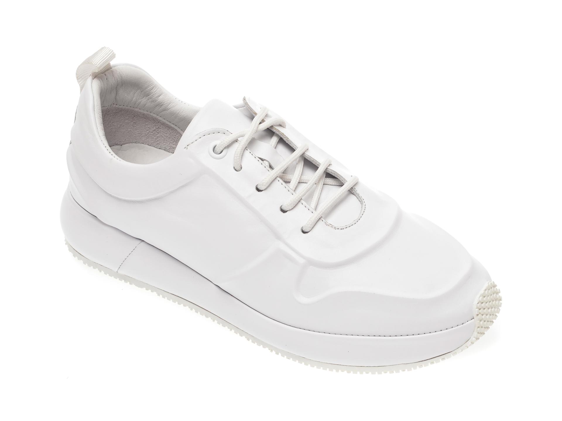 Pantofi FLAVIA PASSINI albi, 1919019, din piele naturala New