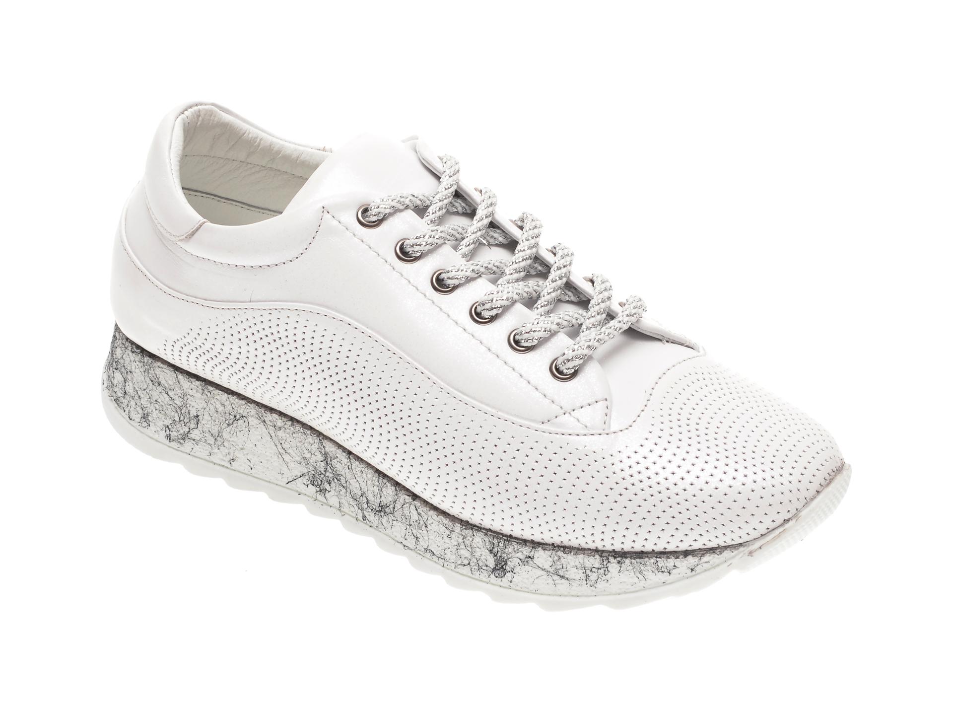 Pantofi FLAVIA PASSINI albi, 2012751, din piele naturala New