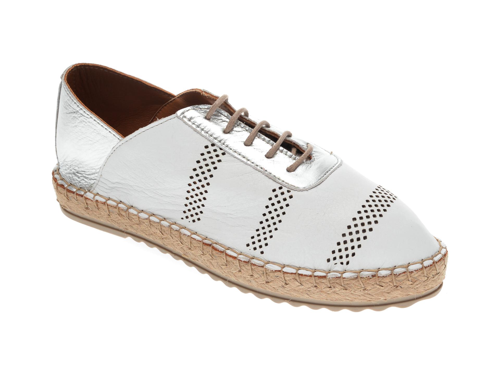 Pantofi FLAVIA PASSINI albi, 21Y513, din piele naturala imagine otter.ro 2021