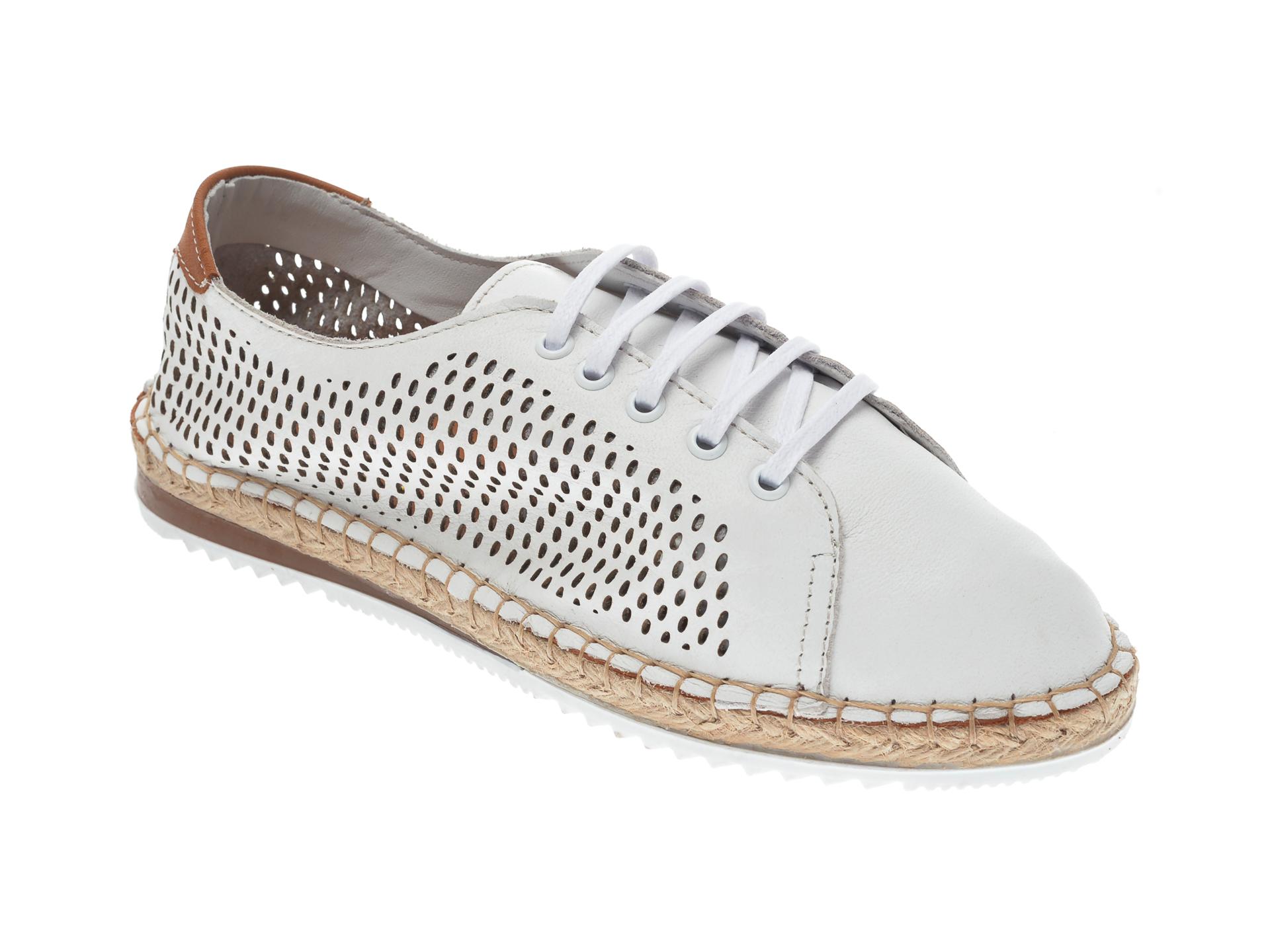 Pantofi FLAVIA PASSINI albi, 21Y5503, din piele naturala imagine otter.ro 2021