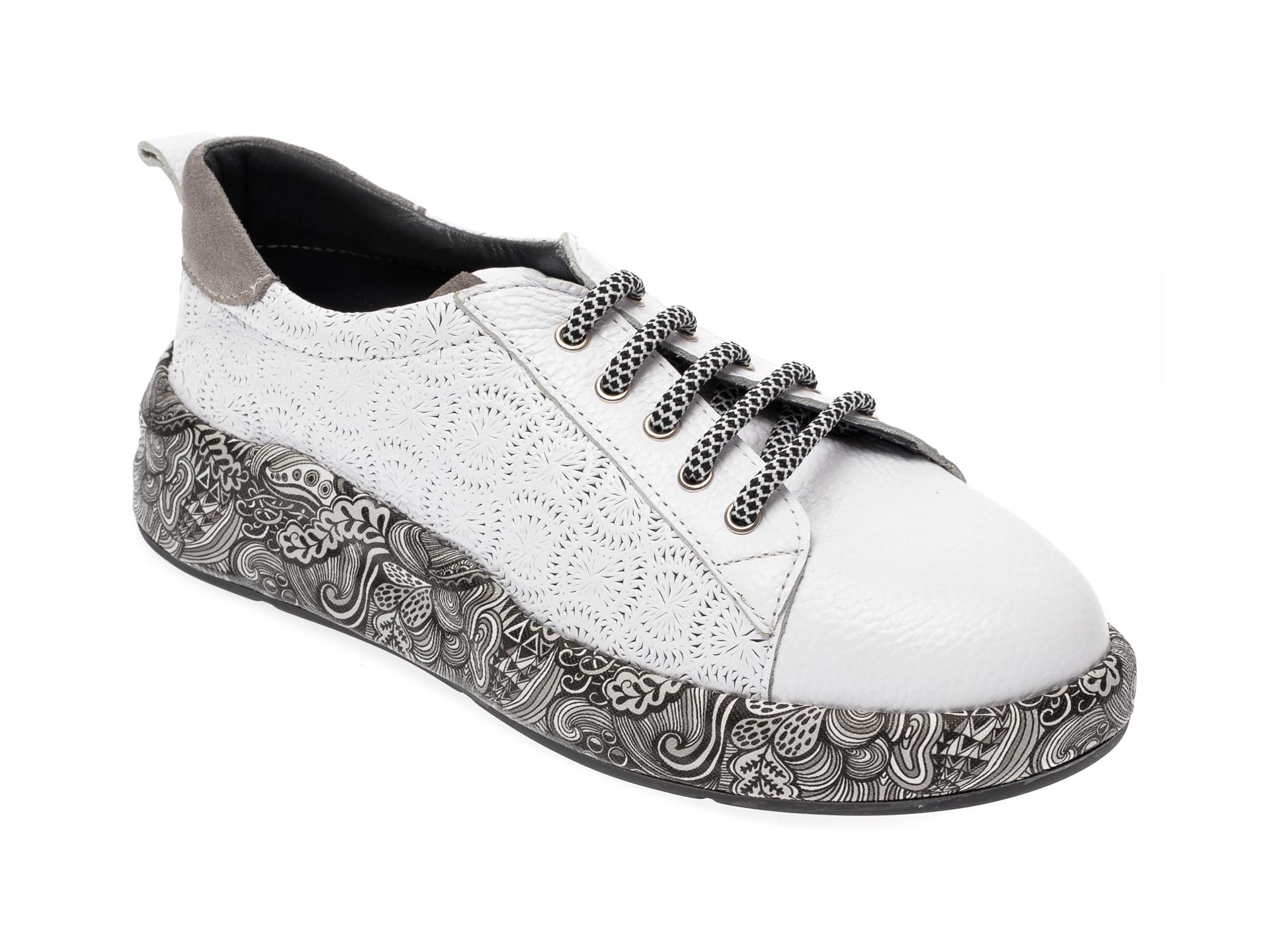 Pantofi FLAVIA PASSINI albi, 5212829, din piele naturala