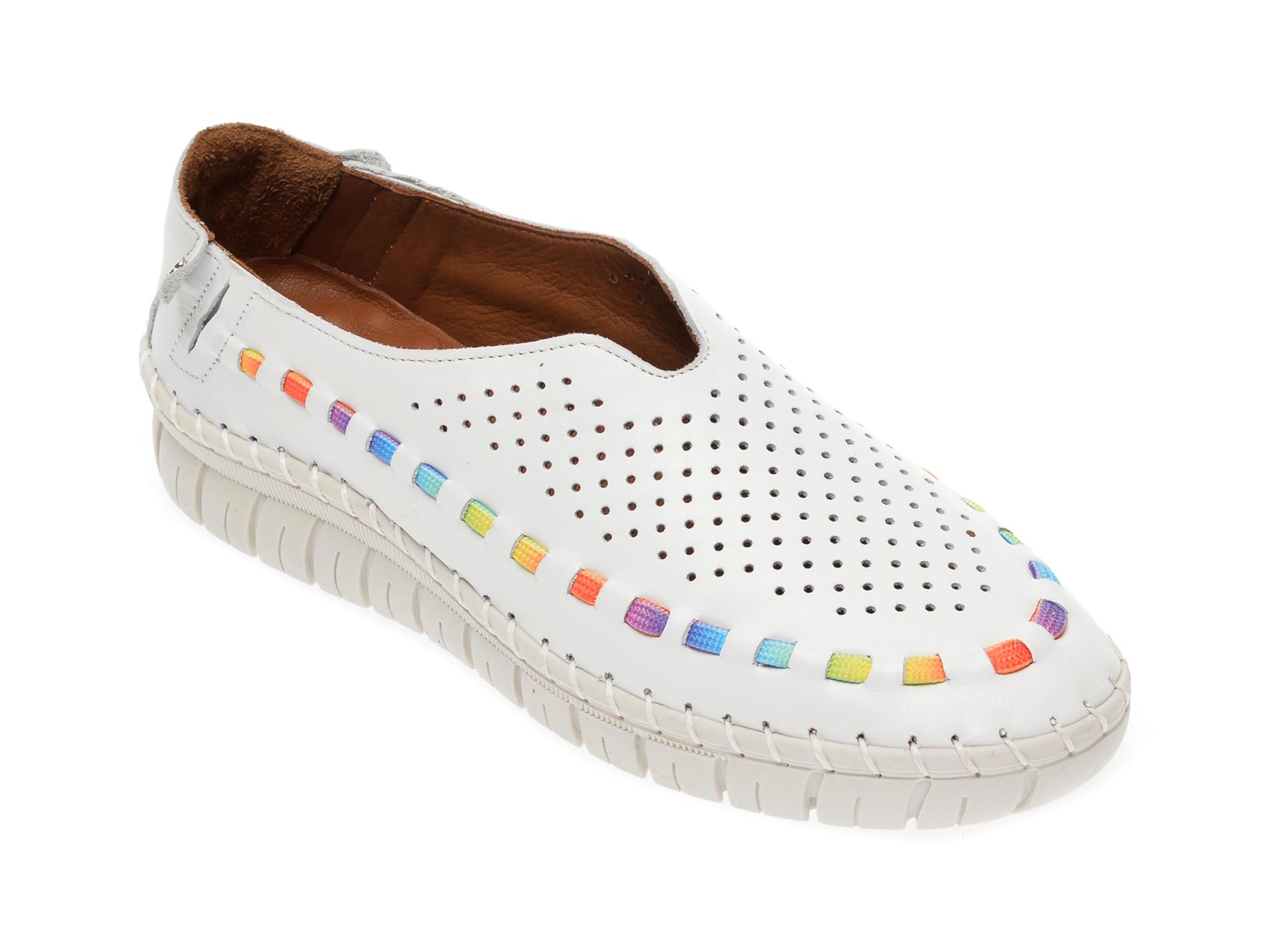 Pantofi FLAVIA PASSINI albi, 7763521, din piele naturala New