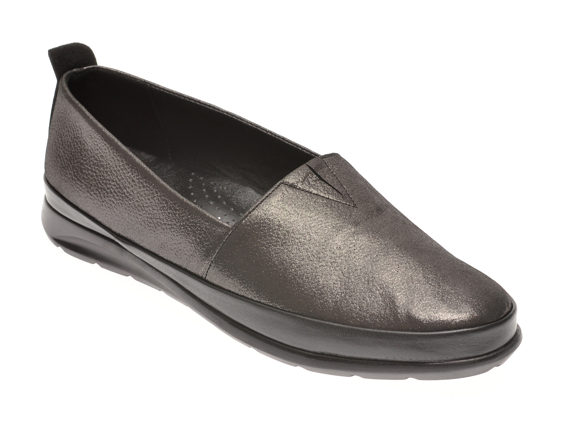 Pantofi FLAVIA PASSINI argintii, 14150, din piele naturala imagine