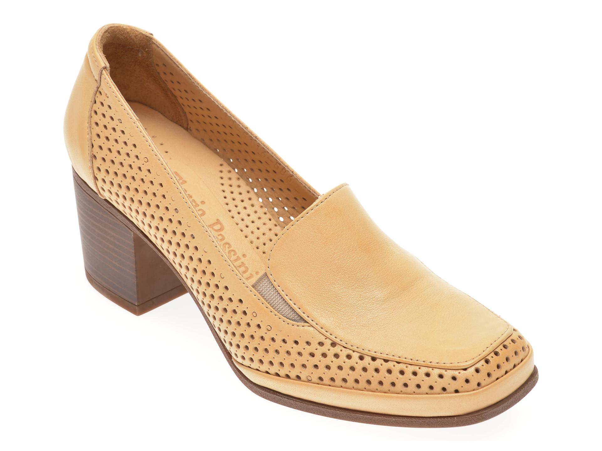 Pantofi FLAVIA PASSINI bej, 0105116, din piele naturala
